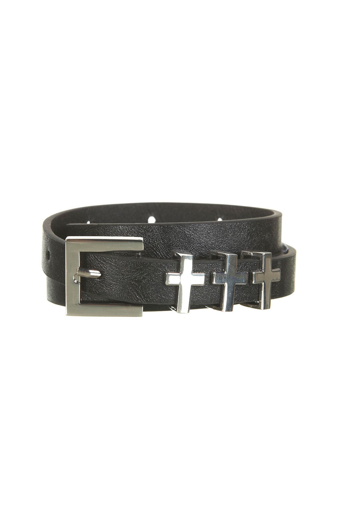 Alternate Image 2  - Topshop 'Cross' Keeper Belt