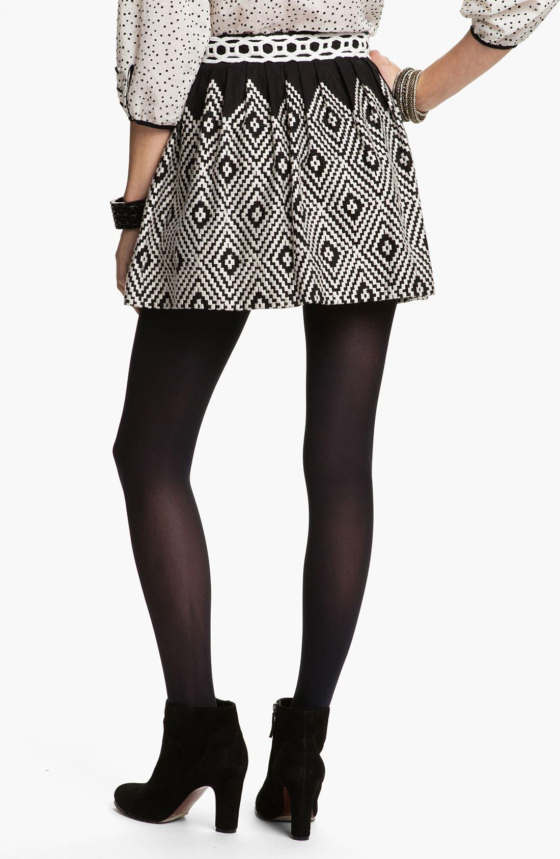 Alternate Image 2  - Free People 'Alexus' Op Art Embroidered Skirt
