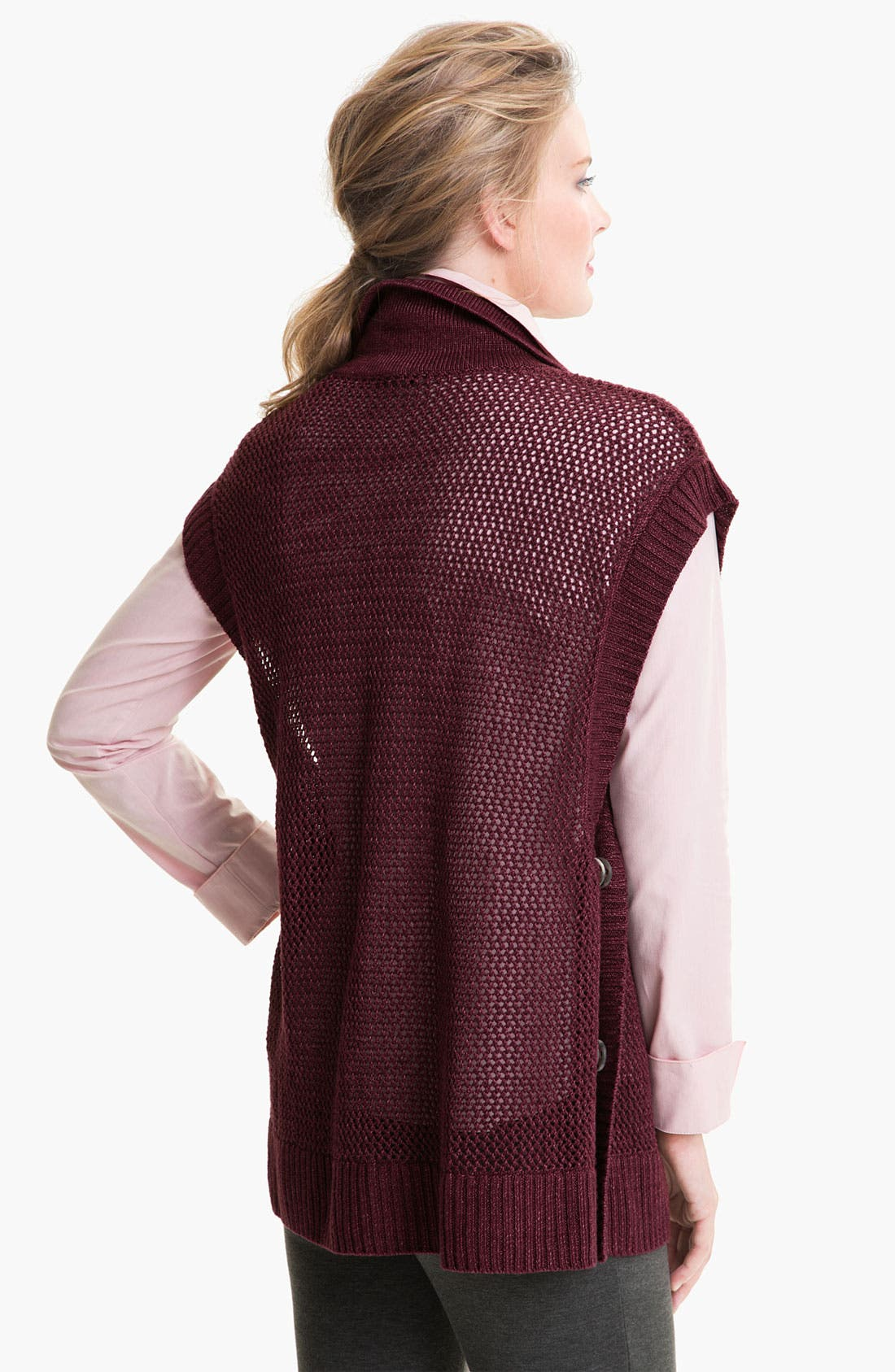 Alternate Image 2  - Lafayette 148 New York 'Canapa' Vest