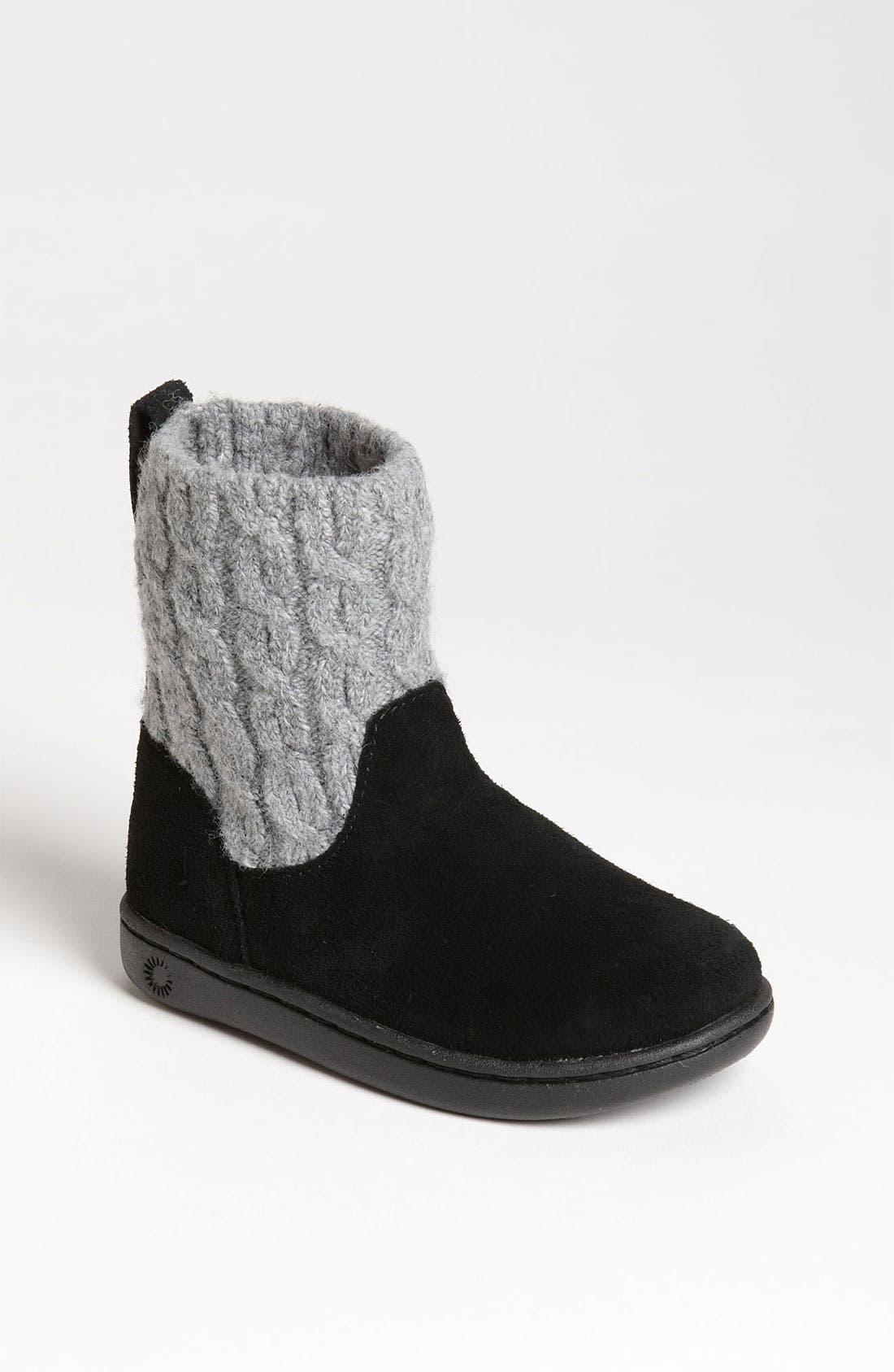 Alternate Image 1 Selected - UGG® Australia 'Carissa' Boot (Walker & Toddler)