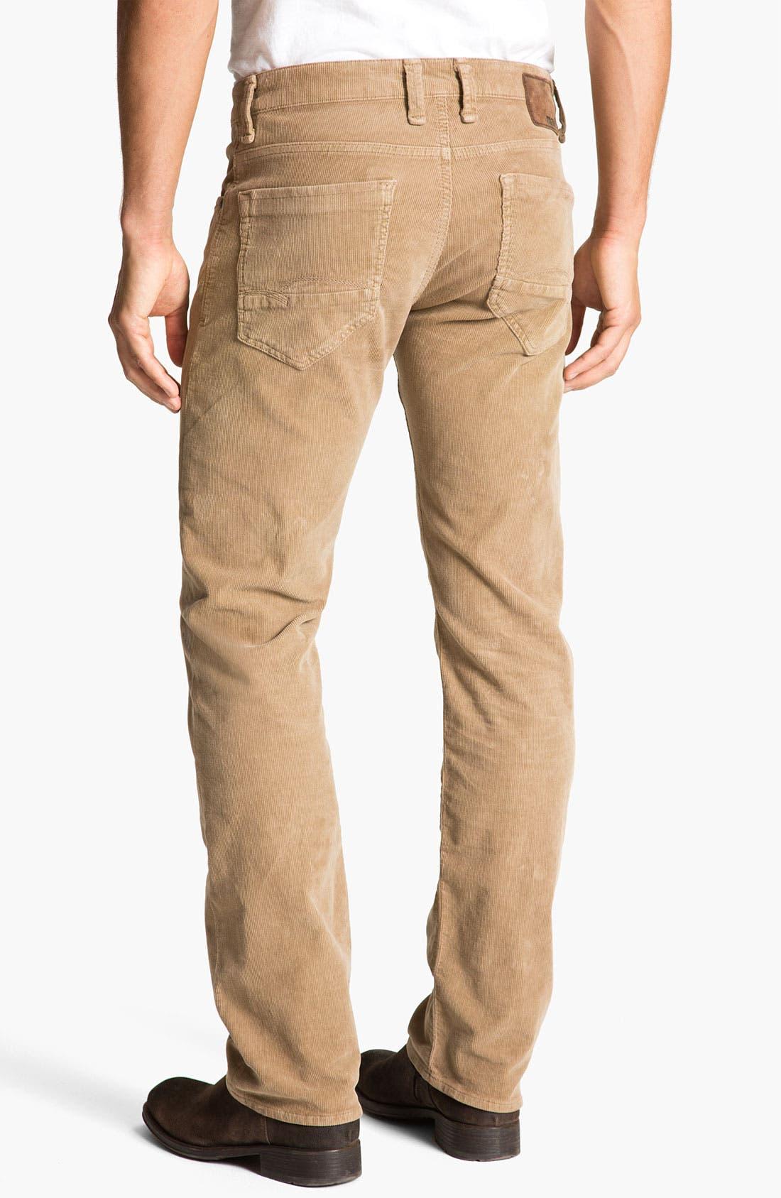 Alternate Image 1 Selected - Mavi Jeans 'Zach' Straight Leg Corduroy Pants