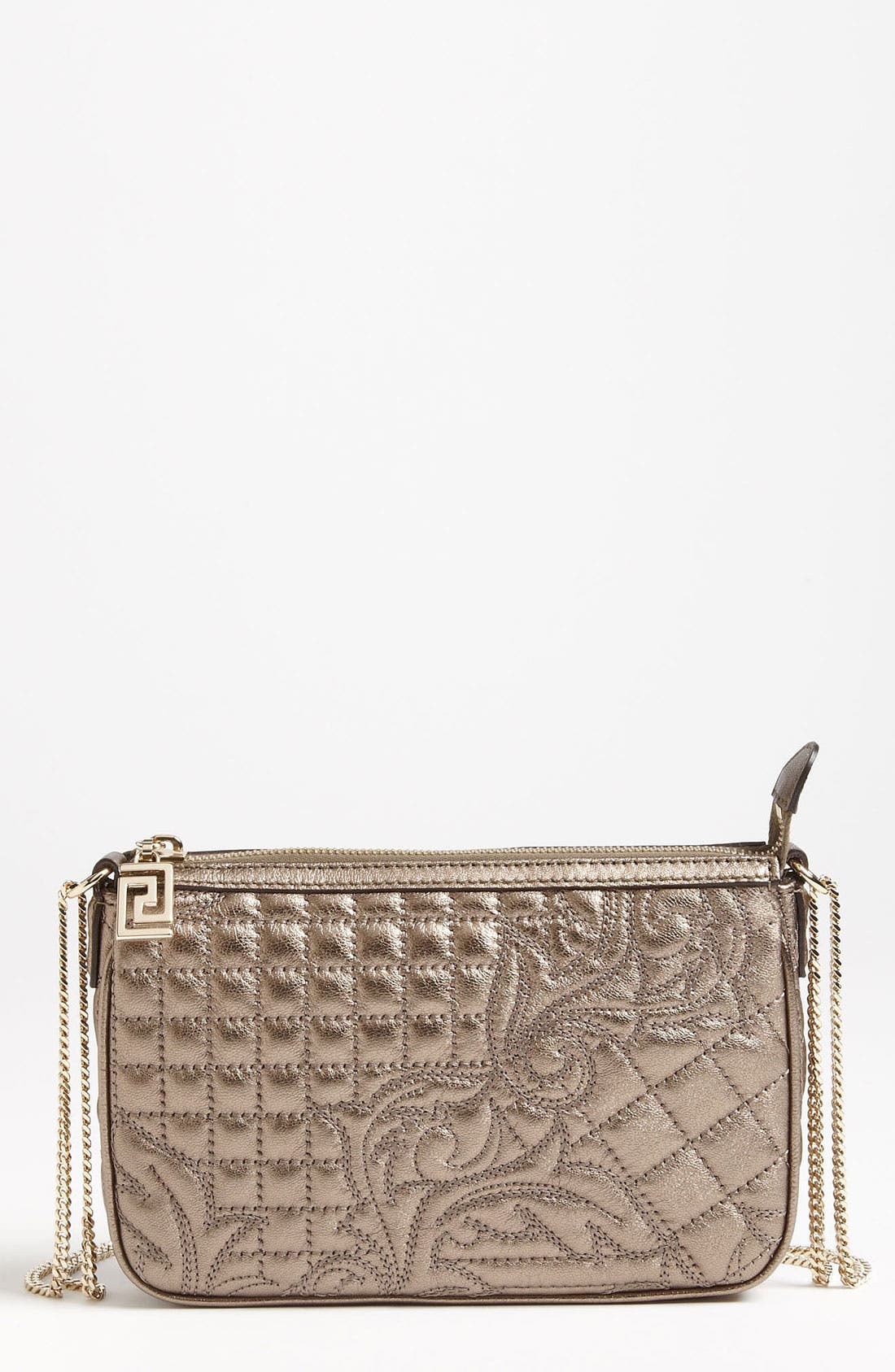 Alternate Image 1 Selected - Versace 'Vanitas' Leather Crossbody Pouchette