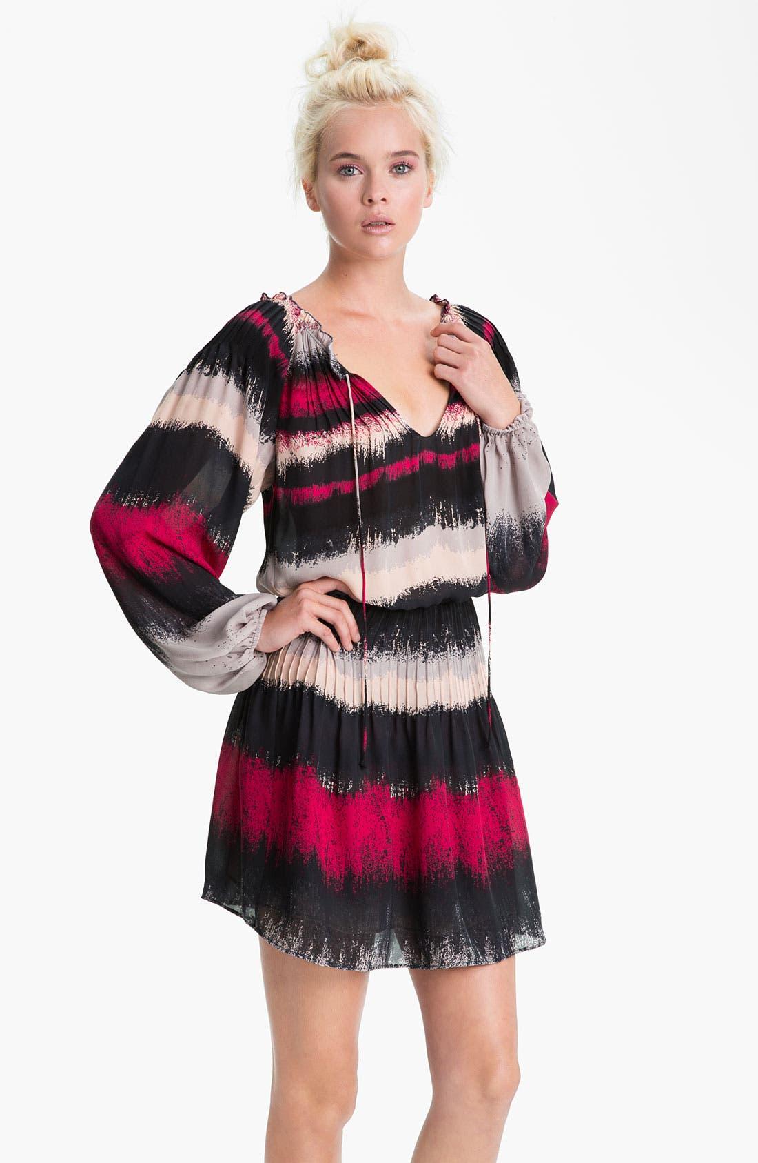 Alternate Image 1 Selected - Parker Stripe Silk Dress
