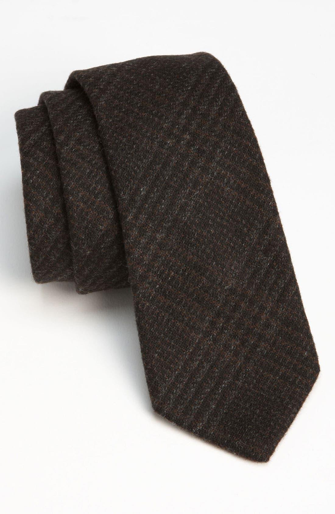 Main Image - Gitman Woven Wool Tie