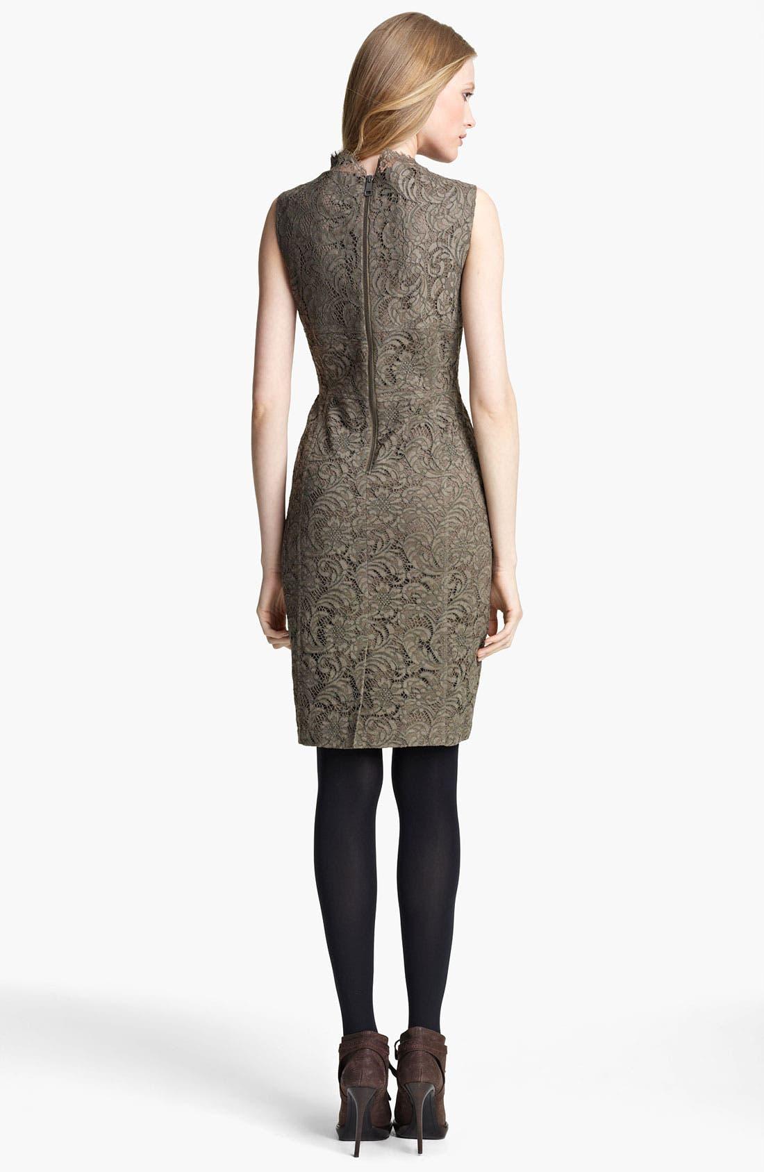 Alternate Image 2  - Burberry London Lace Dress