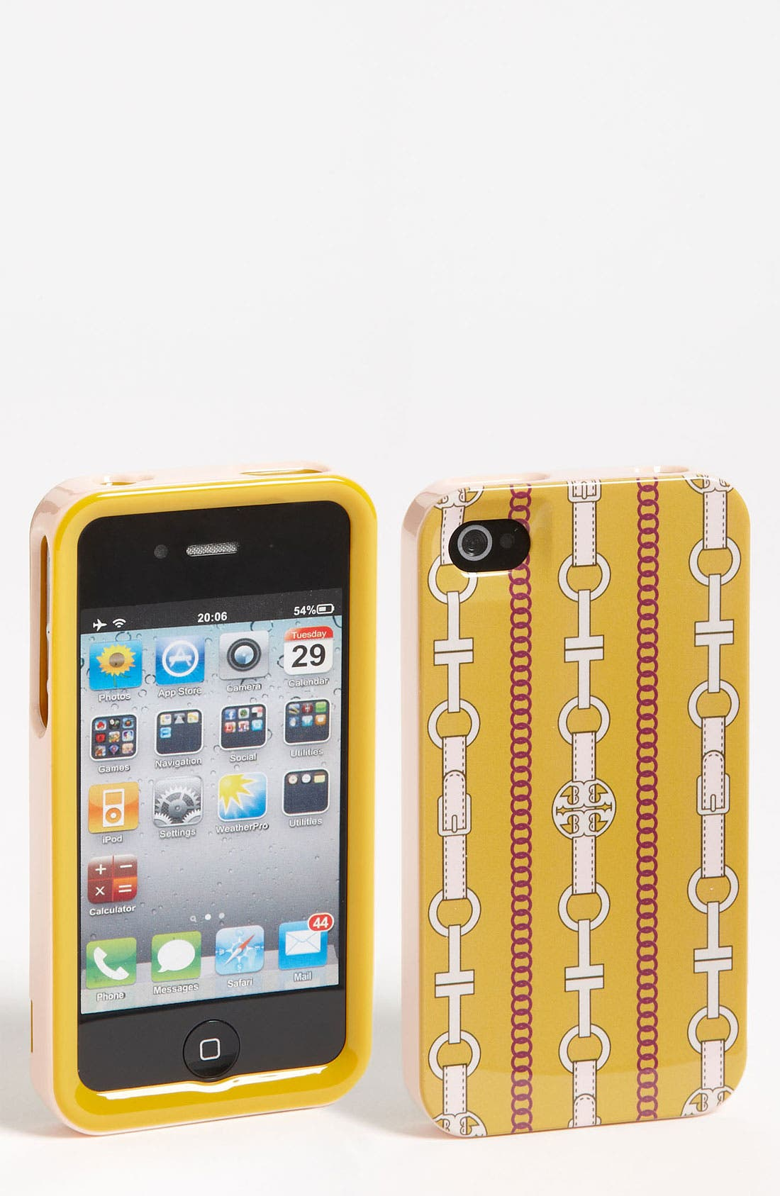 Alternate Image 1 Selected - Tory Burch 'T-Belts' iPhone 4 Case