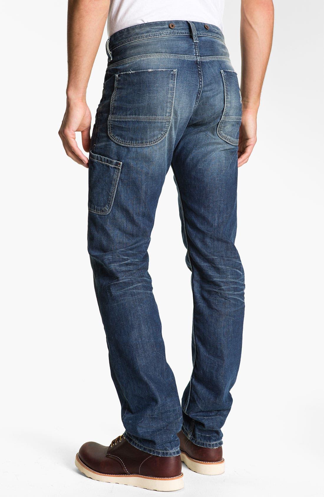 Alternate Image 1 Selected - DIESEL® 'Ty-Tool' Straight Leg Jeans (0804N)