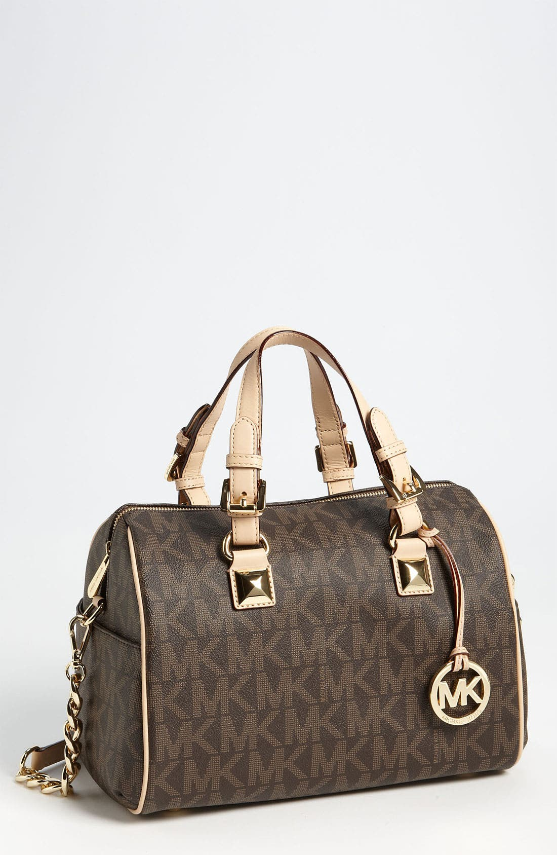 Alternate Image 1 Selected - MICHAEL Michael Kors 'Grayson Logo - Chain' Satchel