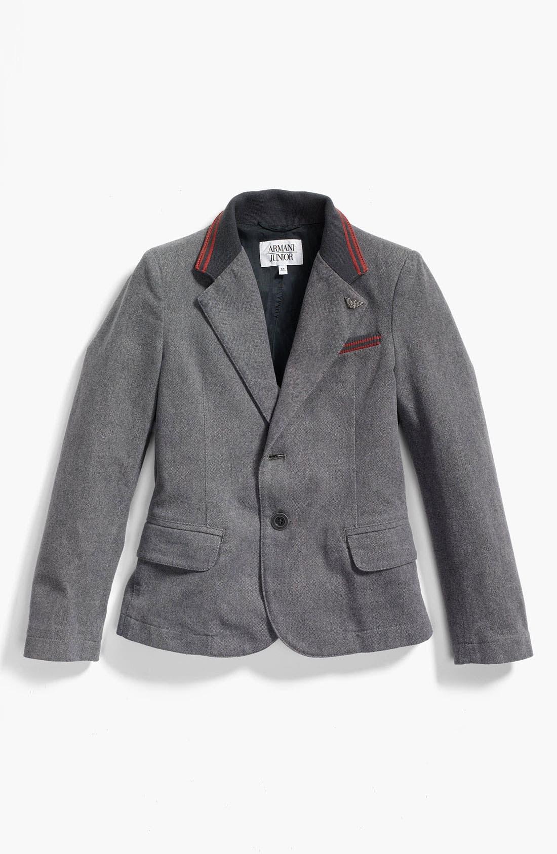 Alternate Image 1 Selected - Armani Junior Sportcoat (Big Boys)