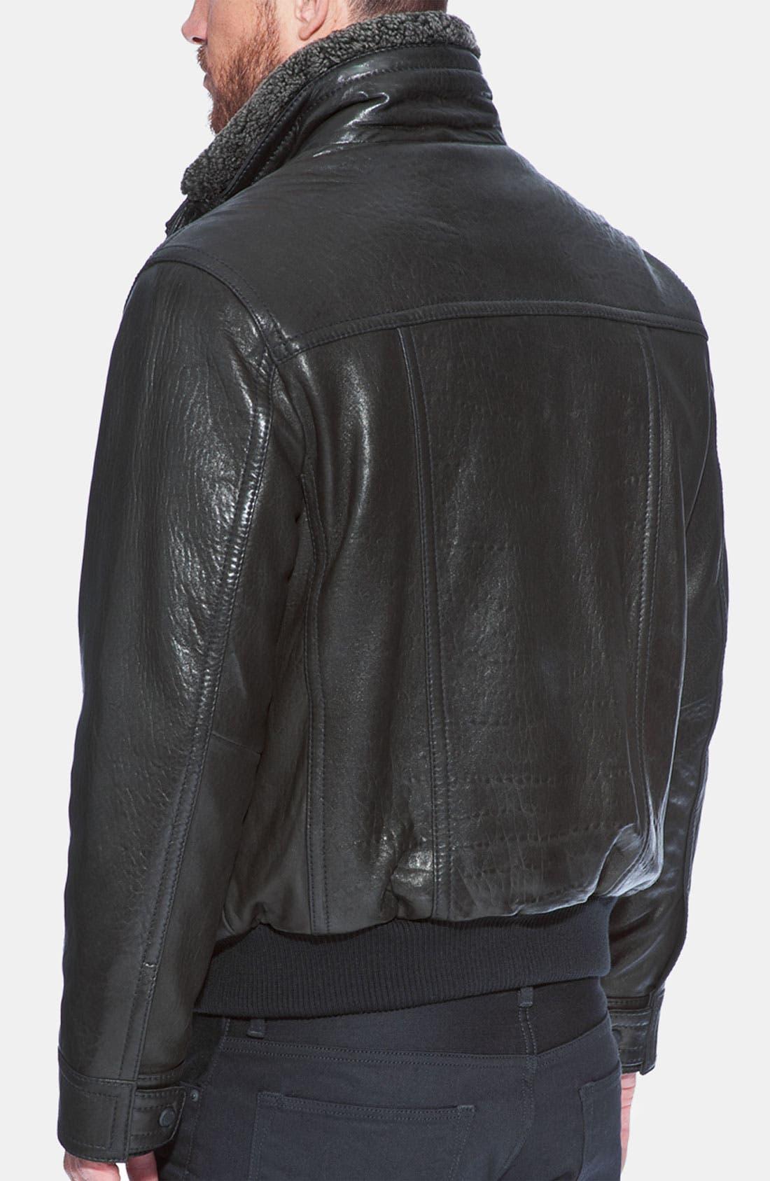 Alternate Image 2  - Andrew Marc 'Radar' Leather Jacket