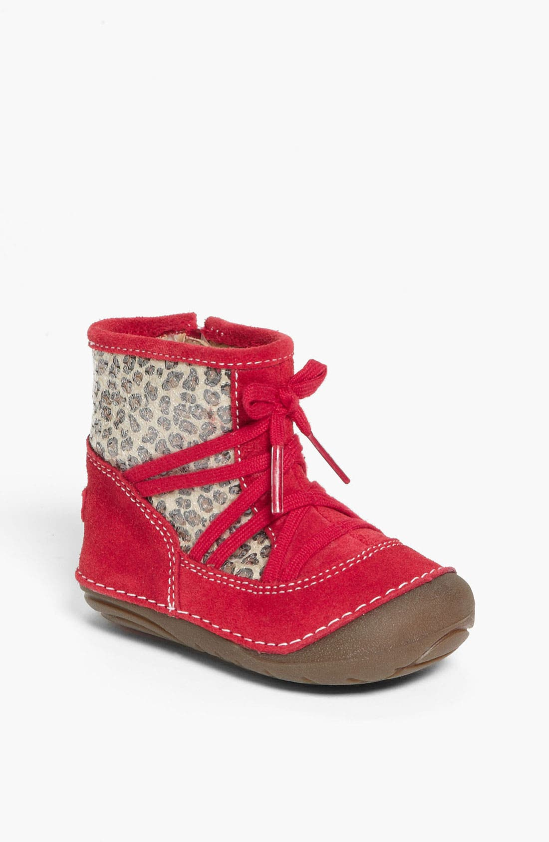 Alternate Image 1 Selected - Stride Rite 'Holly' Boot (Baby & Walker)