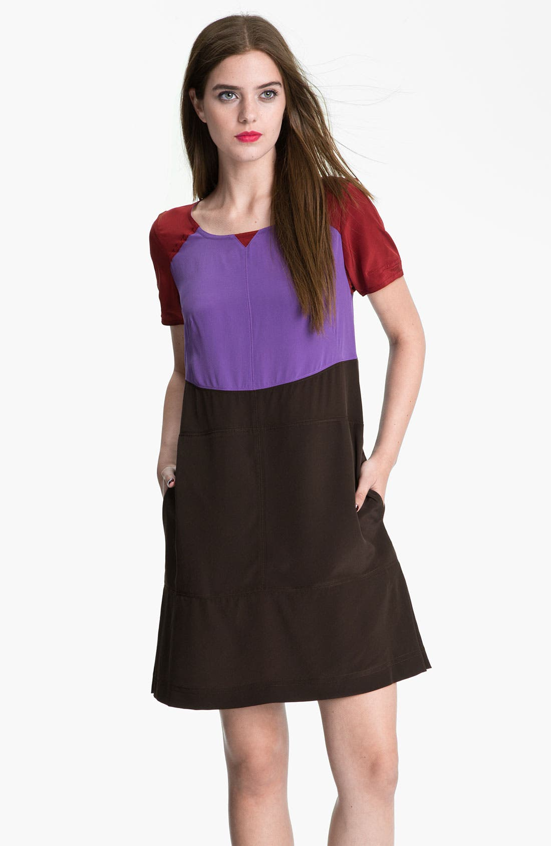 Alternate Image 1 Selected - MARC BY MARC JACOBS 'Skylark' Colorblock Dress