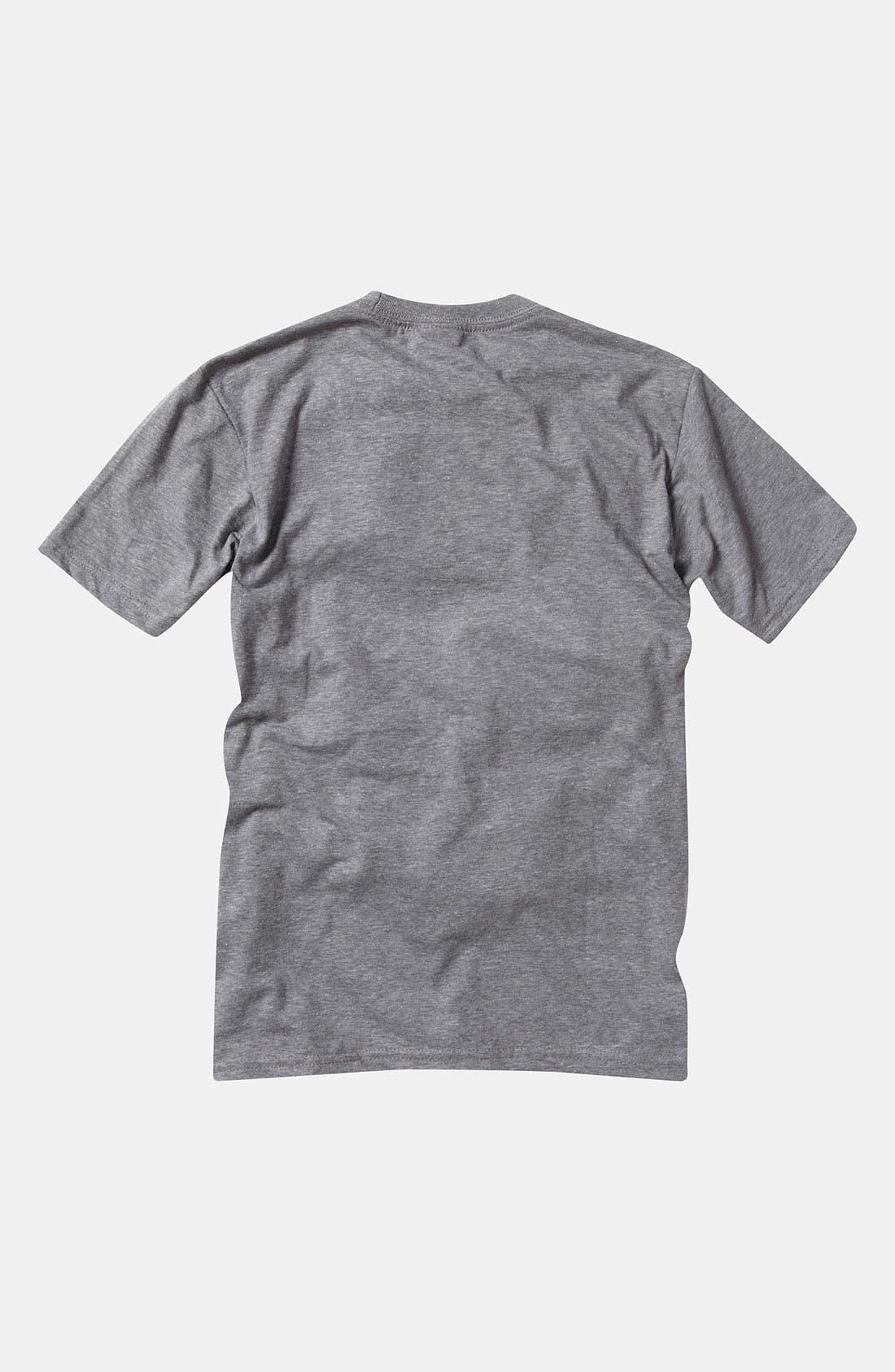 Alternate Image 2  - Quiksilver '3D Fake Out' T-Shirt (Big Boys)