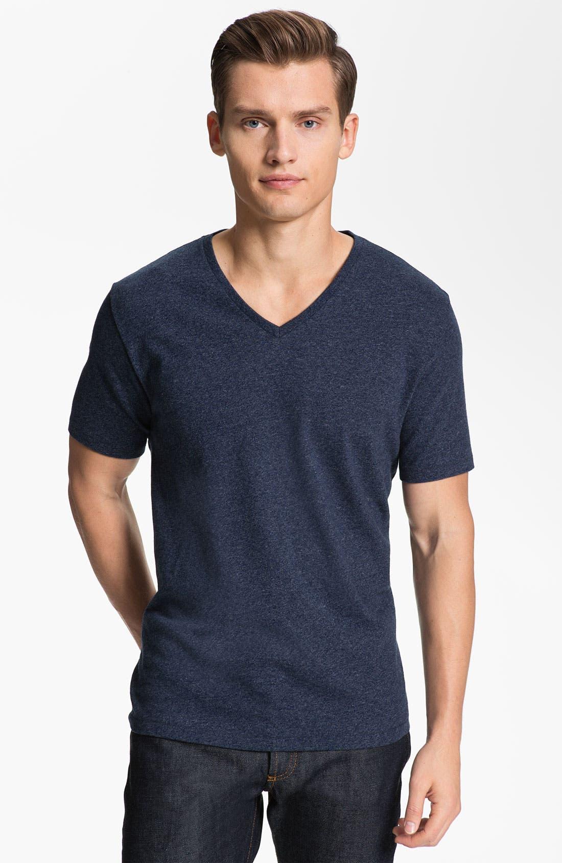 Alternate Image 1 Selected - Jack Spade 'Stark' V-Neck T-Shirt