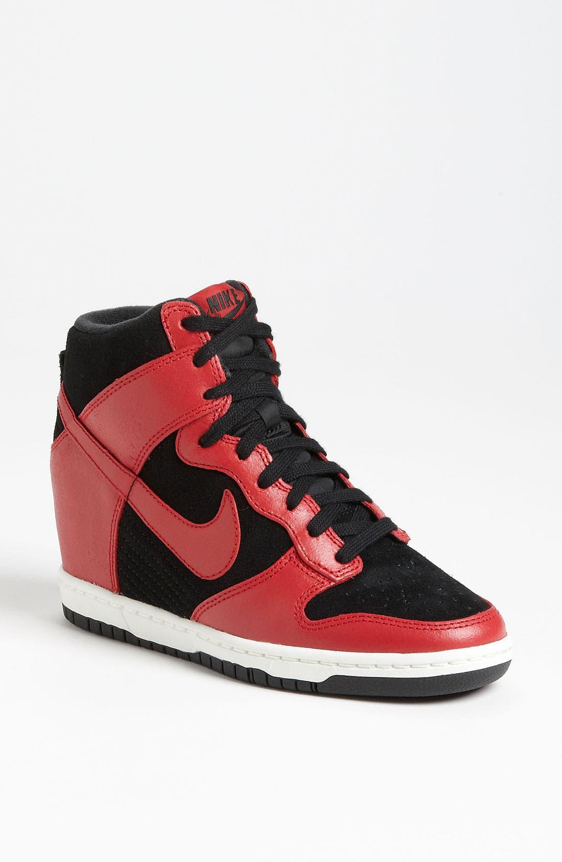 Alternate Image 1 Selected - Nike 'Dunk Sky Hi' Wedge Sneaker (Women)