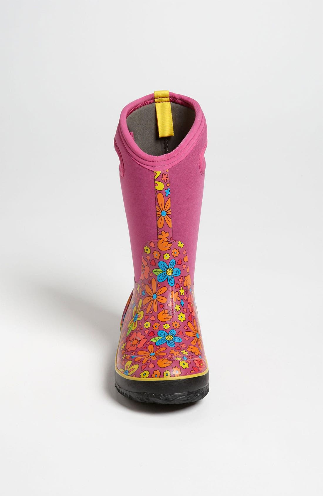 Alternate Image 3  - Bogs 'Classic High - Mumsie' Waterproof Boot (Toddler, Little Kid & Big Kid)