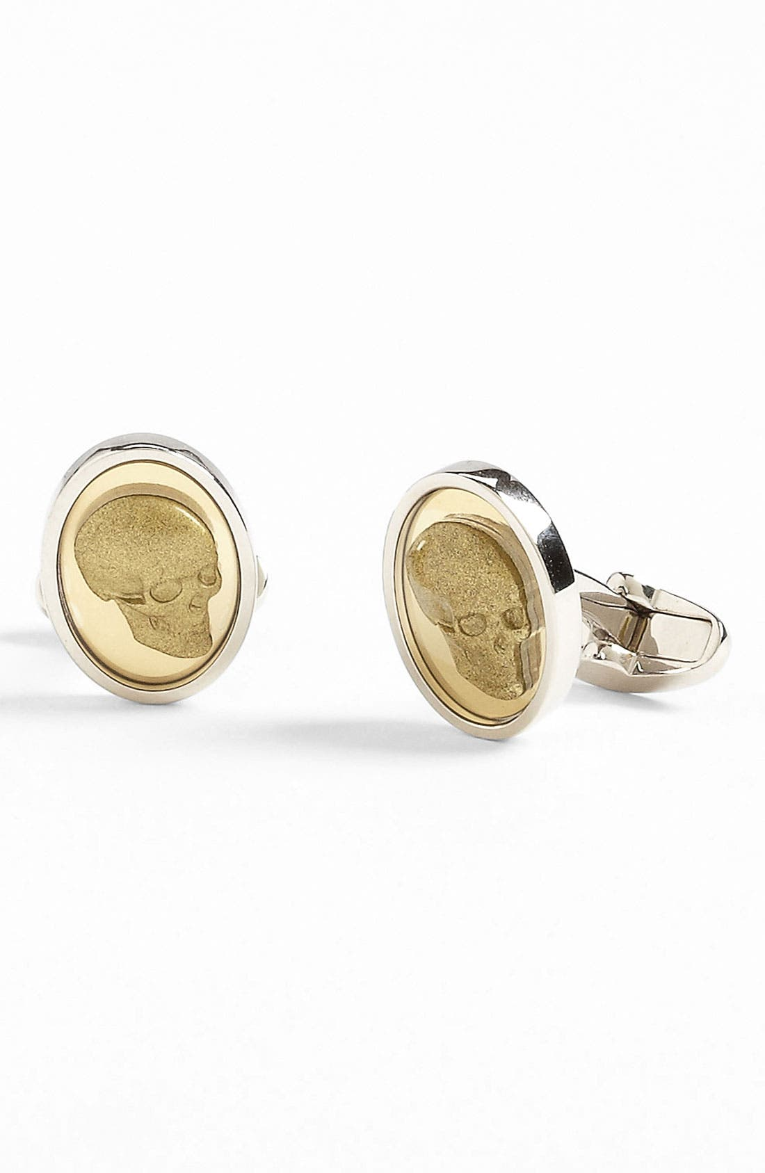 Main Image - Paul Smith Accessories 'Cameo Skull' Cuff Links
