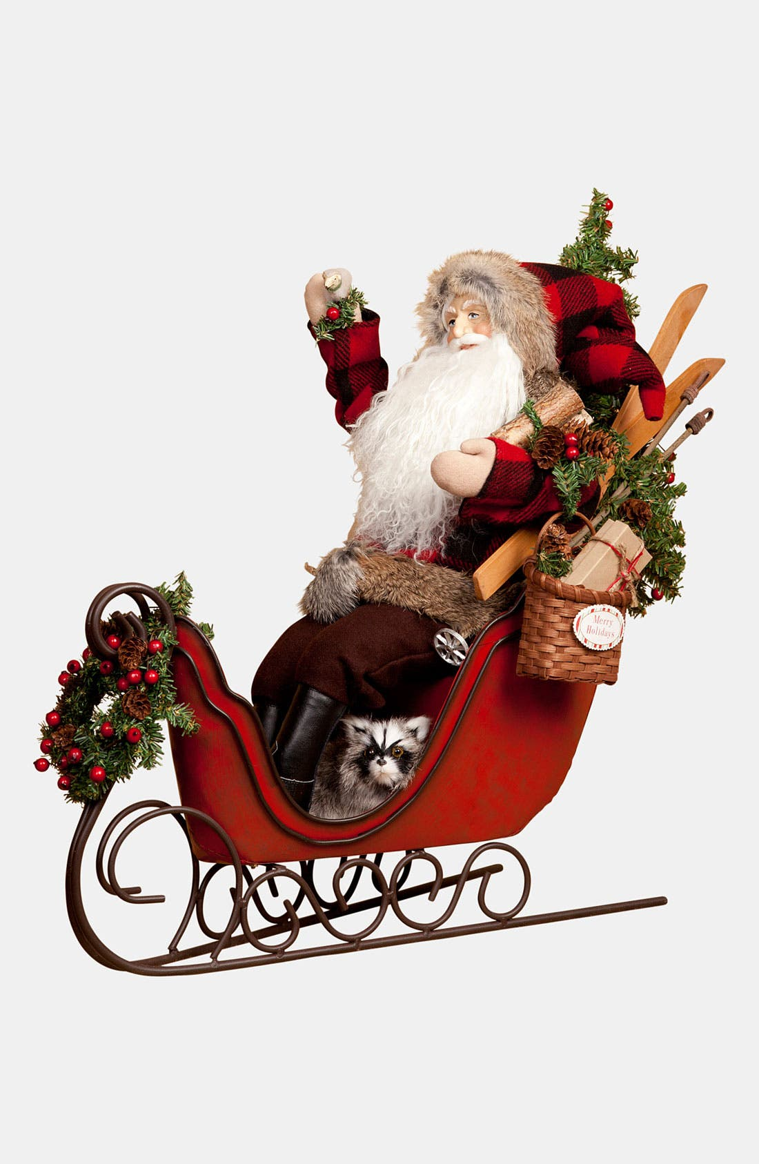 Alternate Image 1 Selected - Lynn Haney 'Christmas Stowaway' Santa Figurine