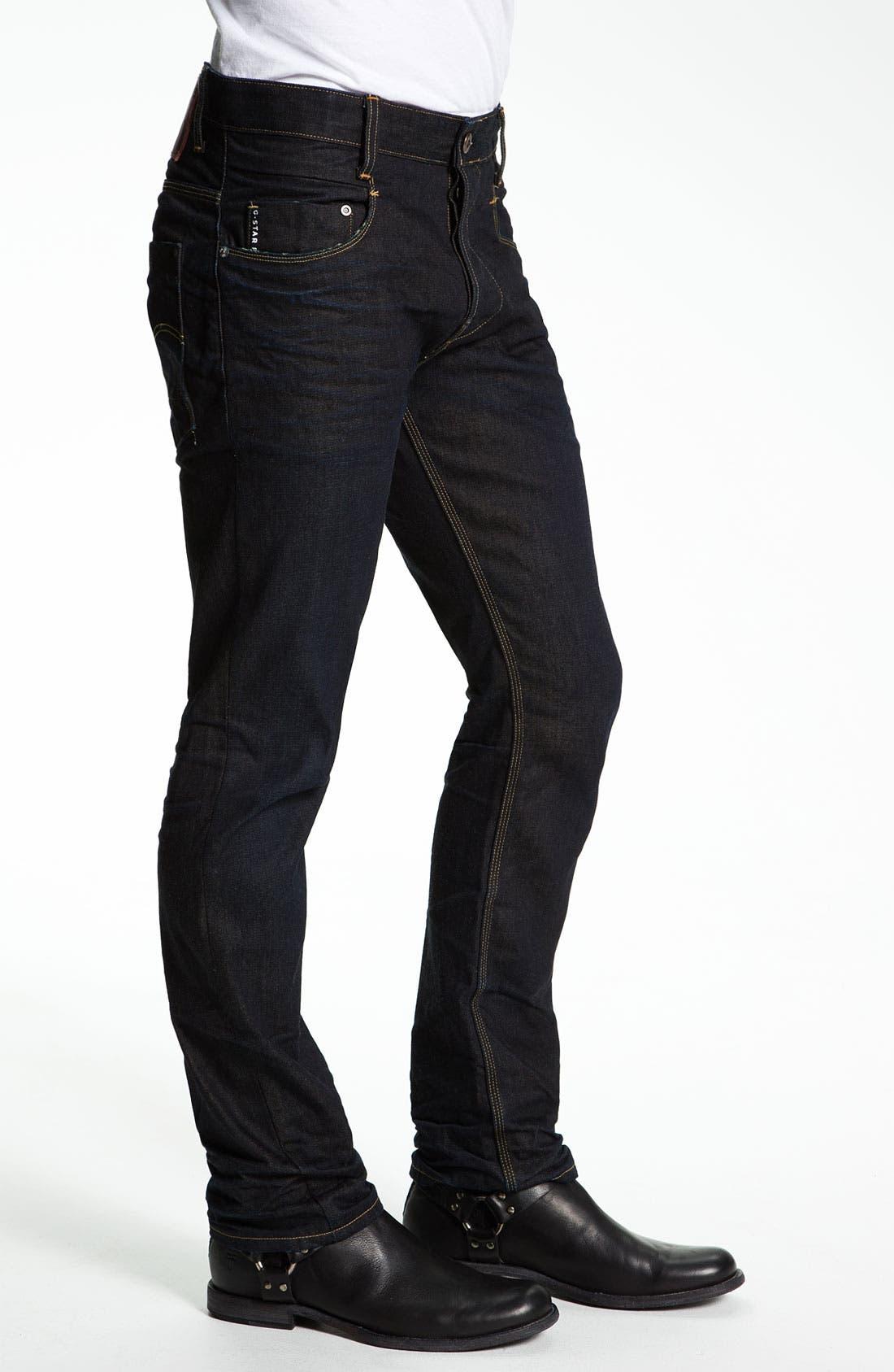 Alternate Image 3  - G-Star Raw 'New Rader' Straight Leg Jeans (3D Dark Aged)