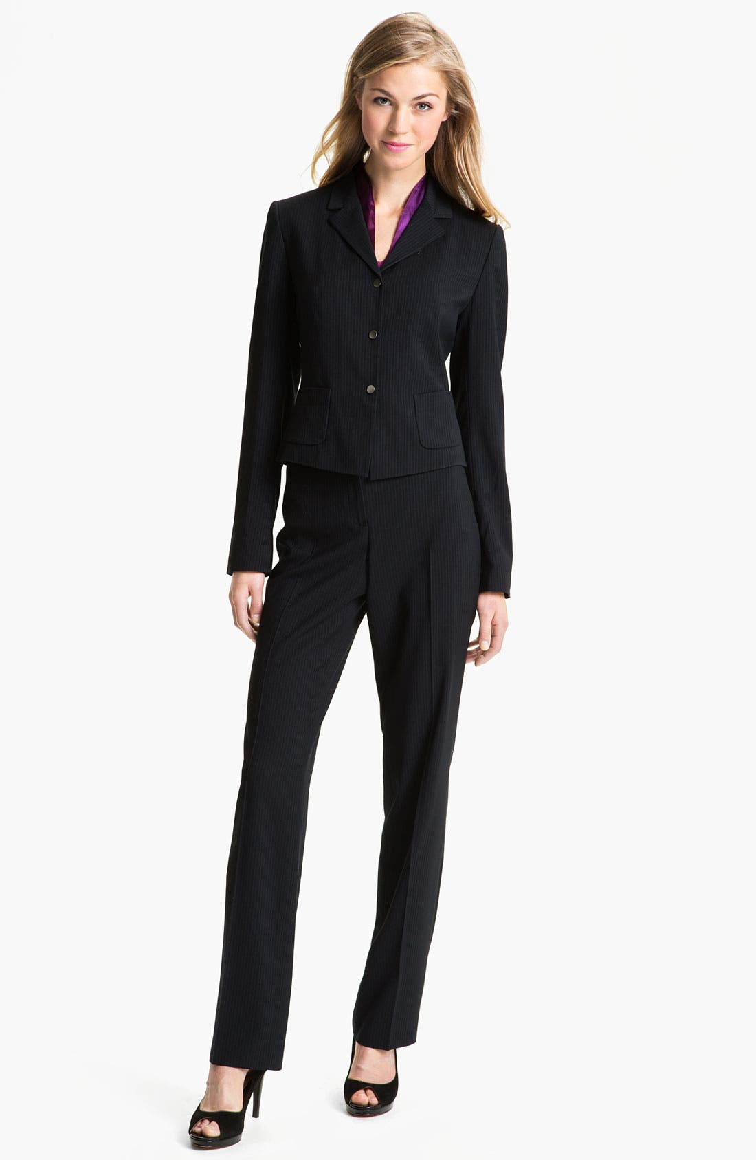 Alternate Image 3  - T Tahari 'Roxy' Jacket (Petite)