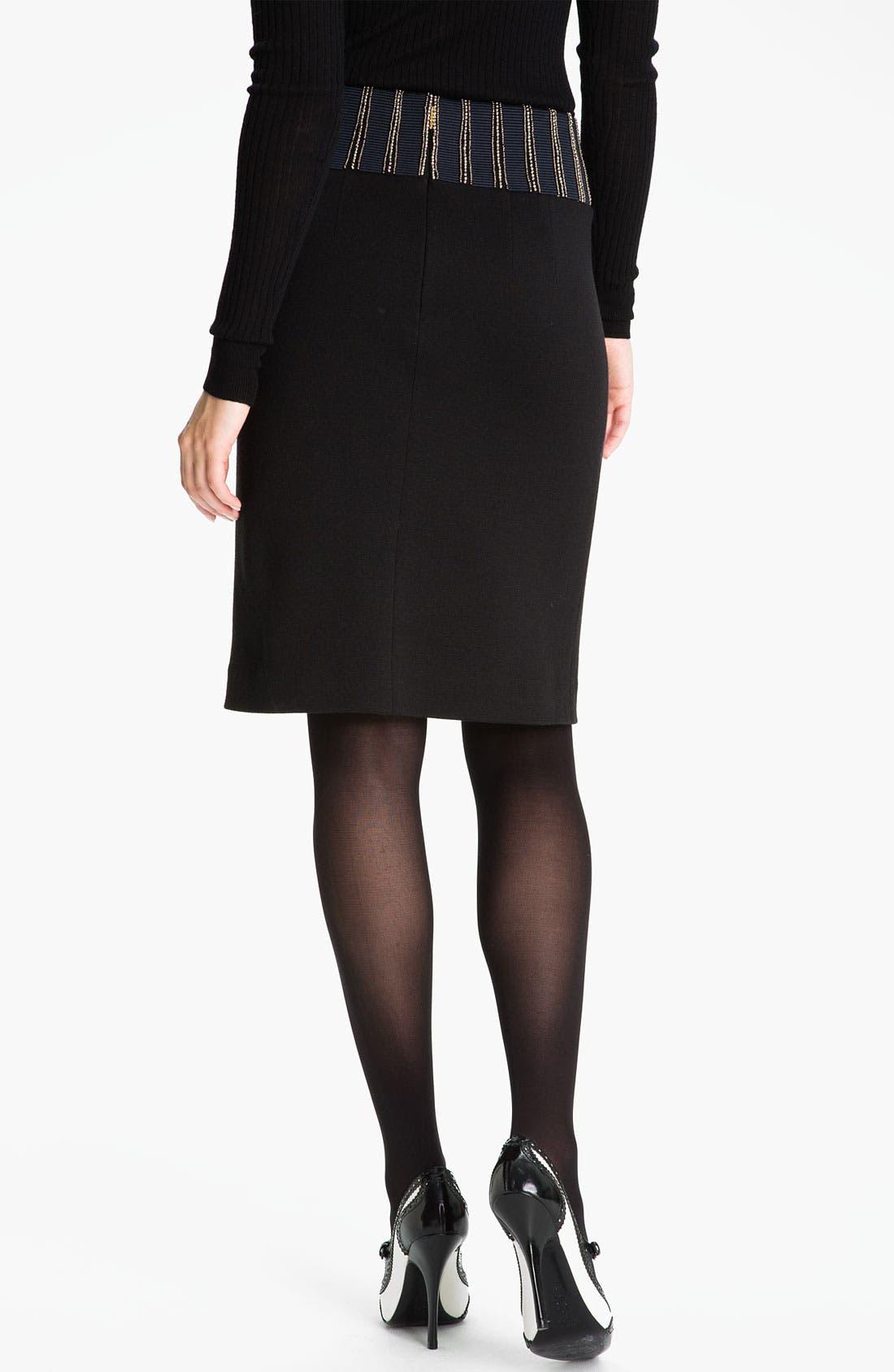 Alternate Image 2  - Tory Burch 'Thalia' Pencil Skirt (Online Exclusive)