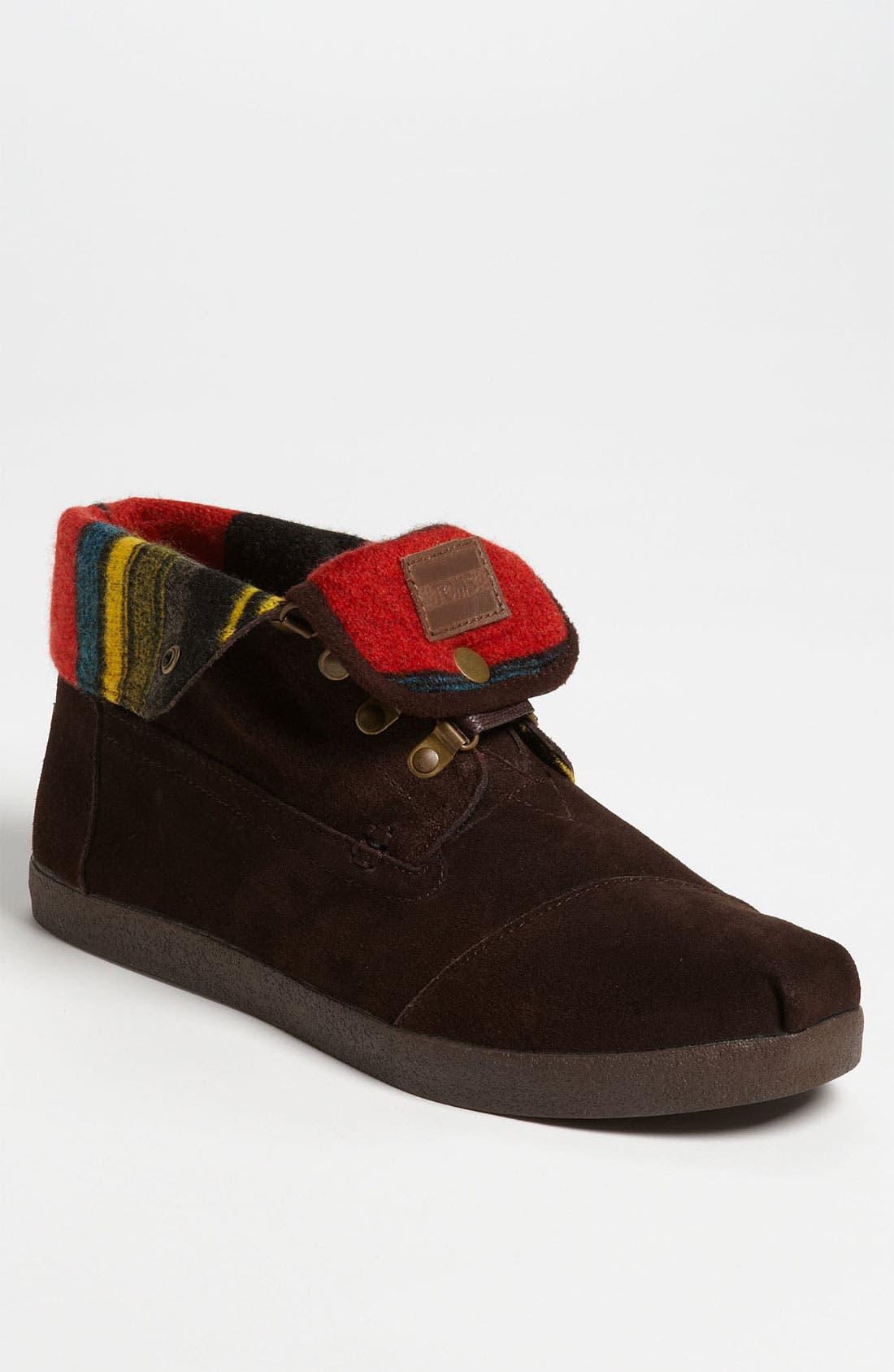 Alternate Image 1 Selected - TOMS 'Highlands' Suede Boot (Men)