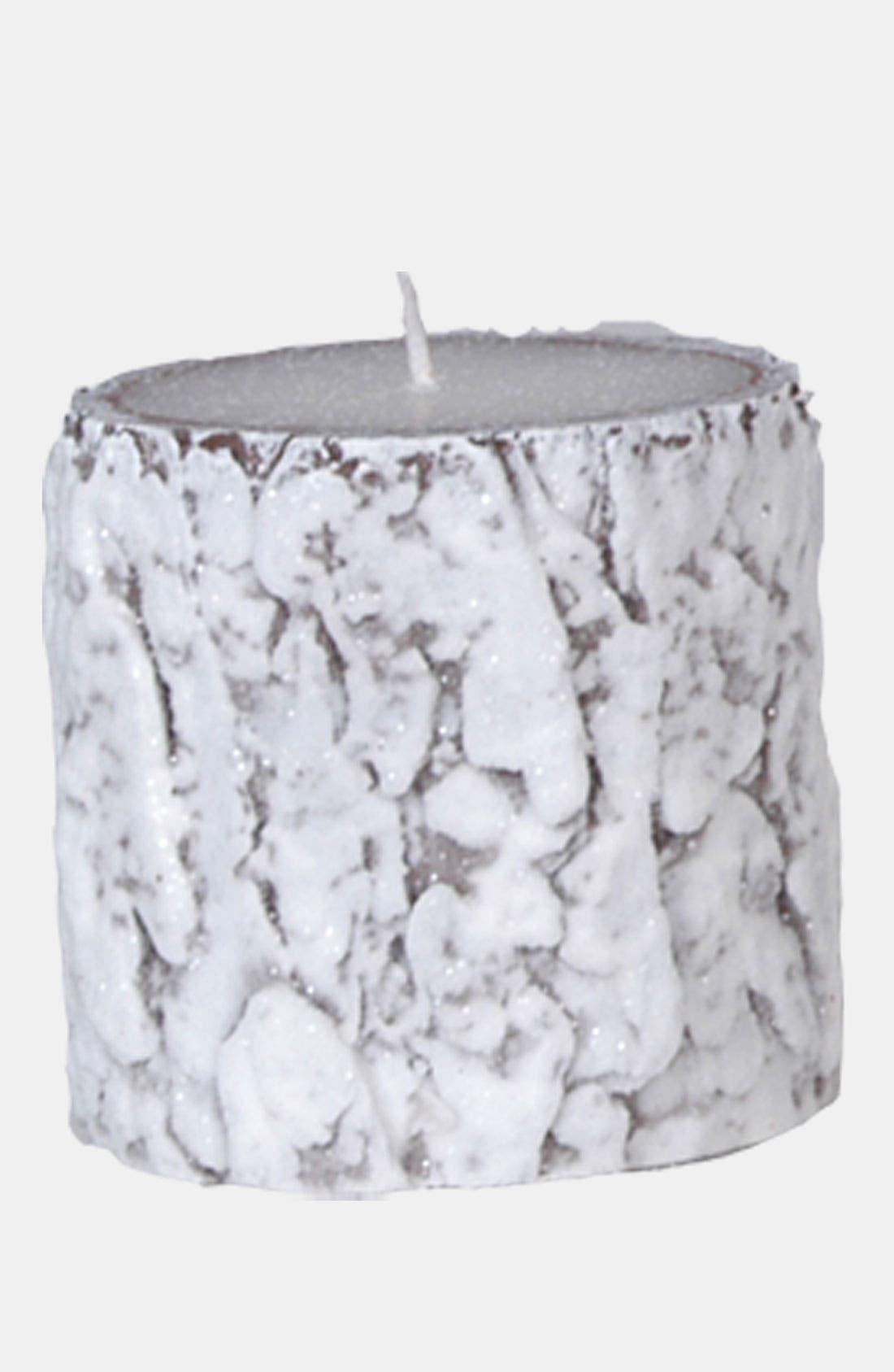 Main Image - Fantastic Craft 'Snow Bark' Pillar Candle