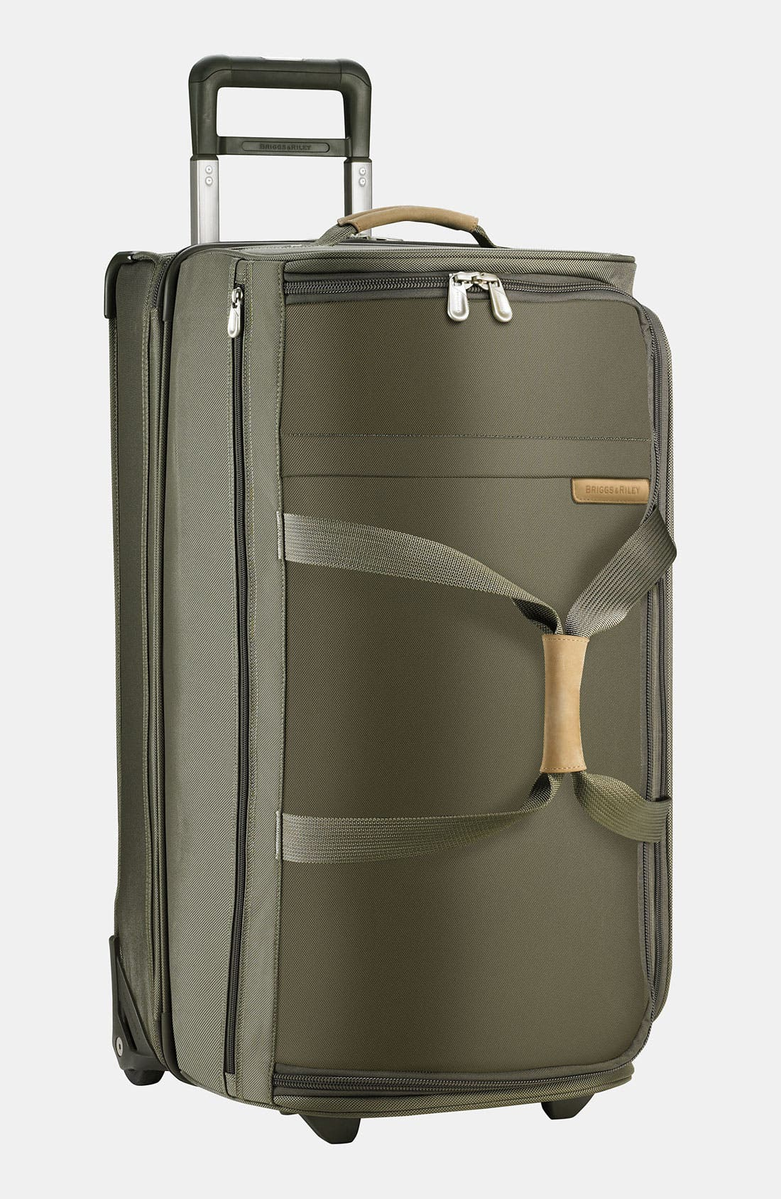 Large Baseline 29-Inch Rolling Duffel Bag,                             Main thumbnail 1, color,                             Olive