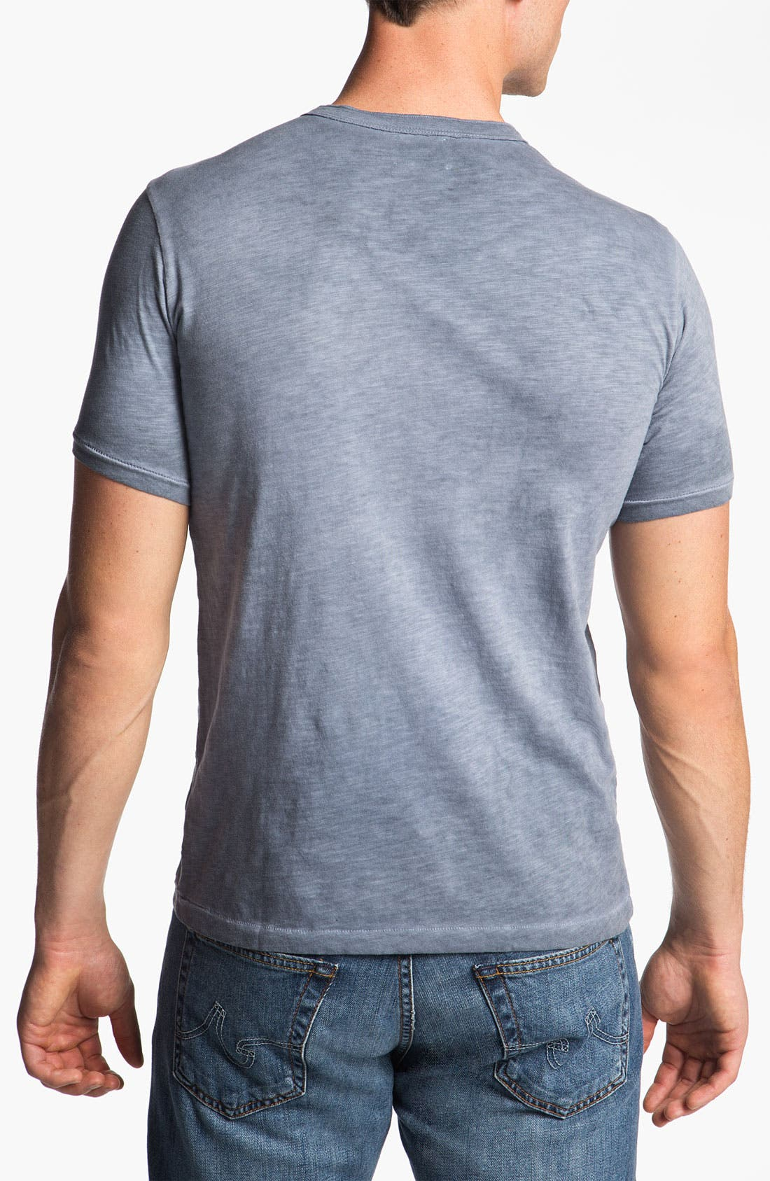 Alternate Image 2  - AG Jeans Short Sleeve Henley