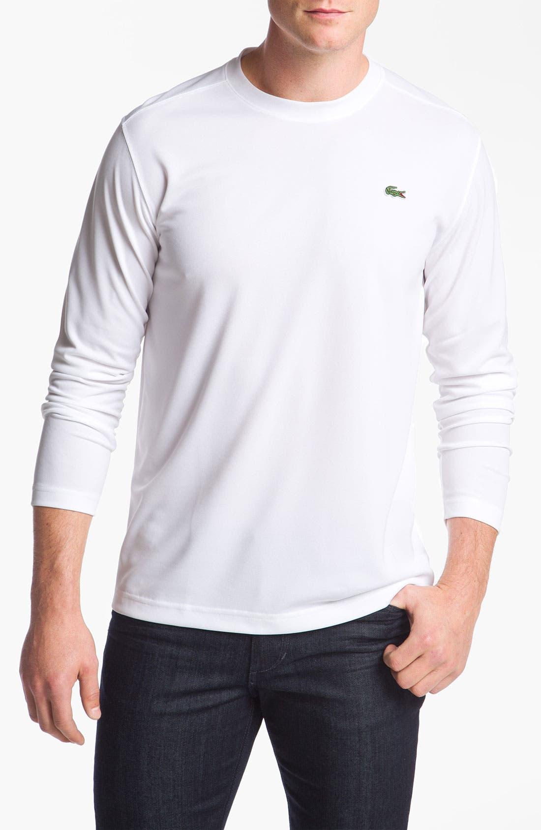 Alternate Image 1 Selected - Lacoste 'Super Dry' Crewneck T-Shirt