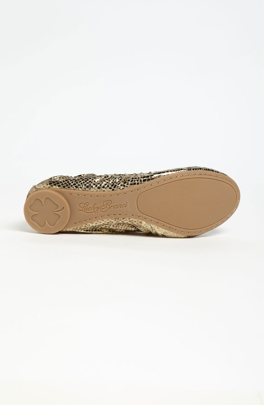 Alternate Image 4  - Lucky Brand 'Erla' Flat