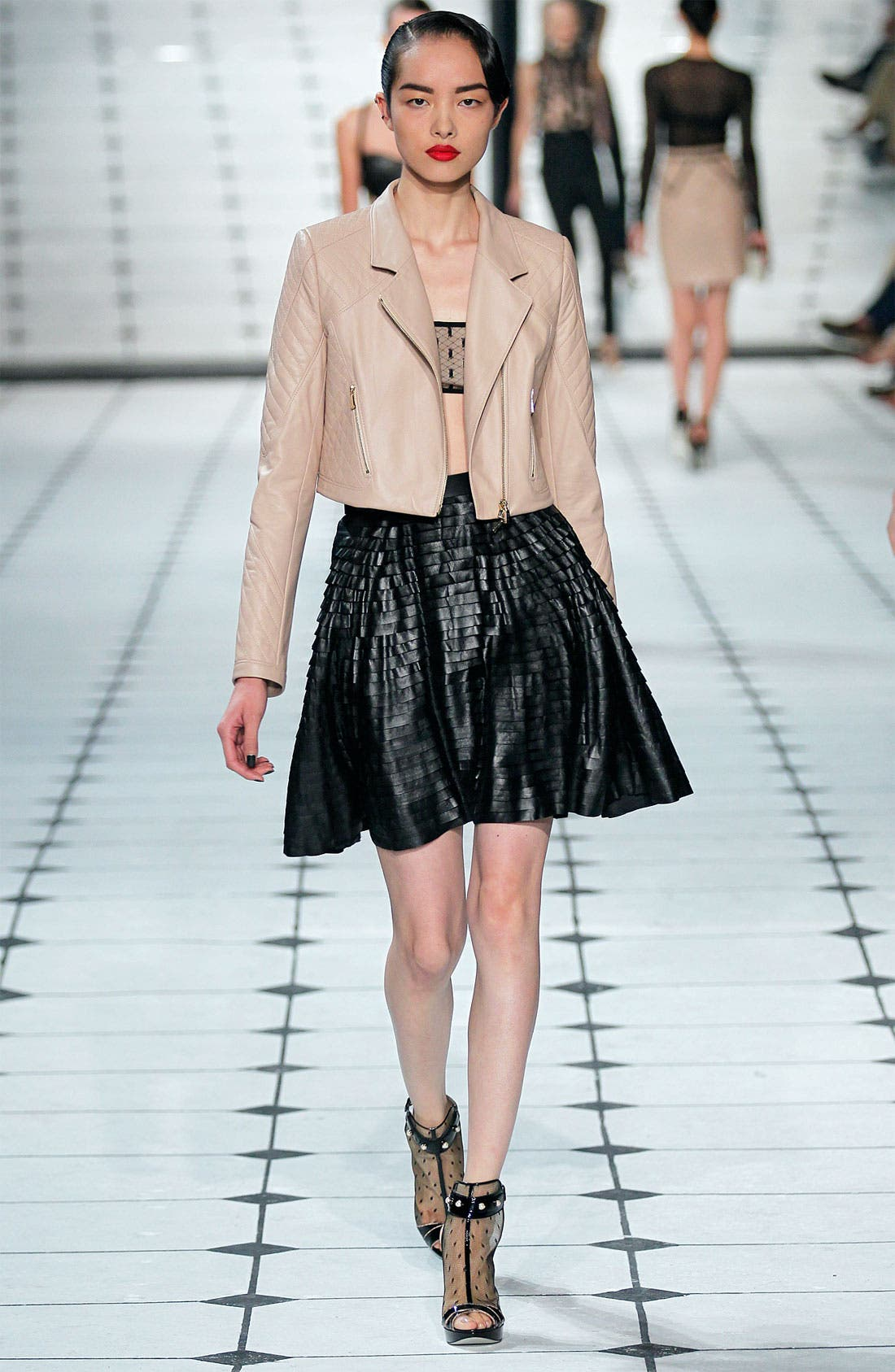 Alternate Image 3  - Jason Wu Tiered Leather Skirt
