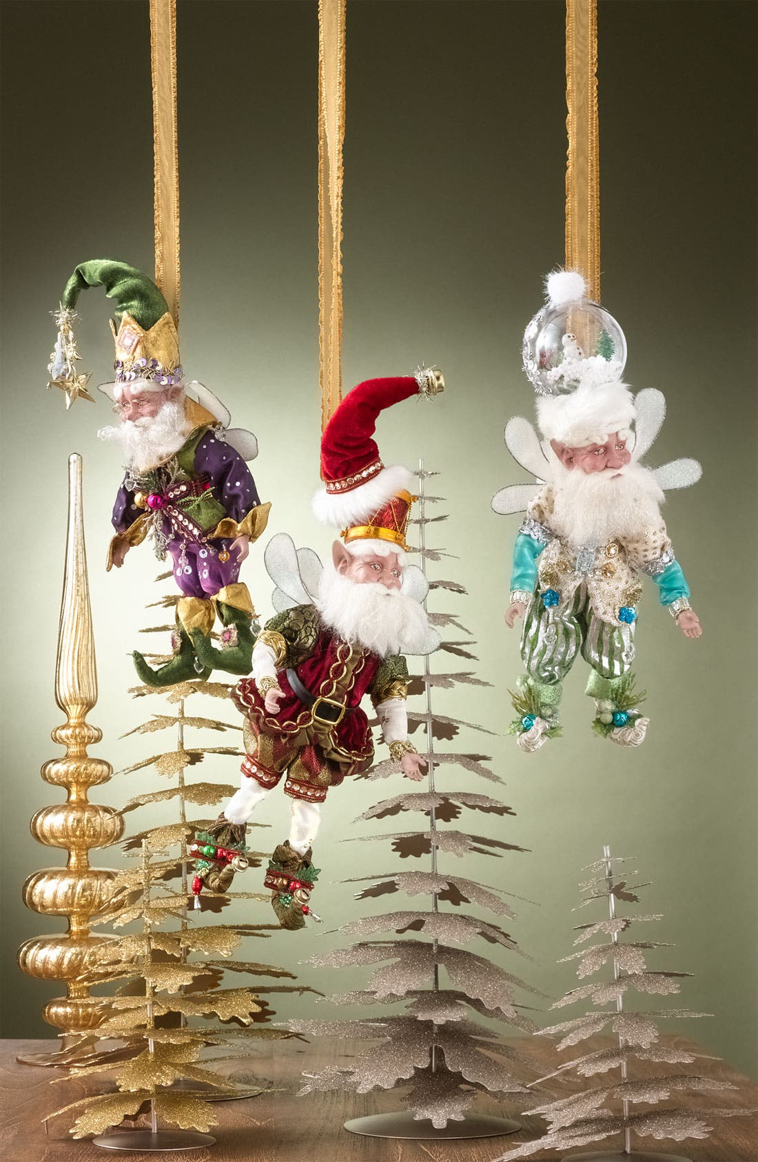 Alternate Image 2  - Mark Roberts 'Christmas Shopping Fairy' Figurine (Limited Edition)