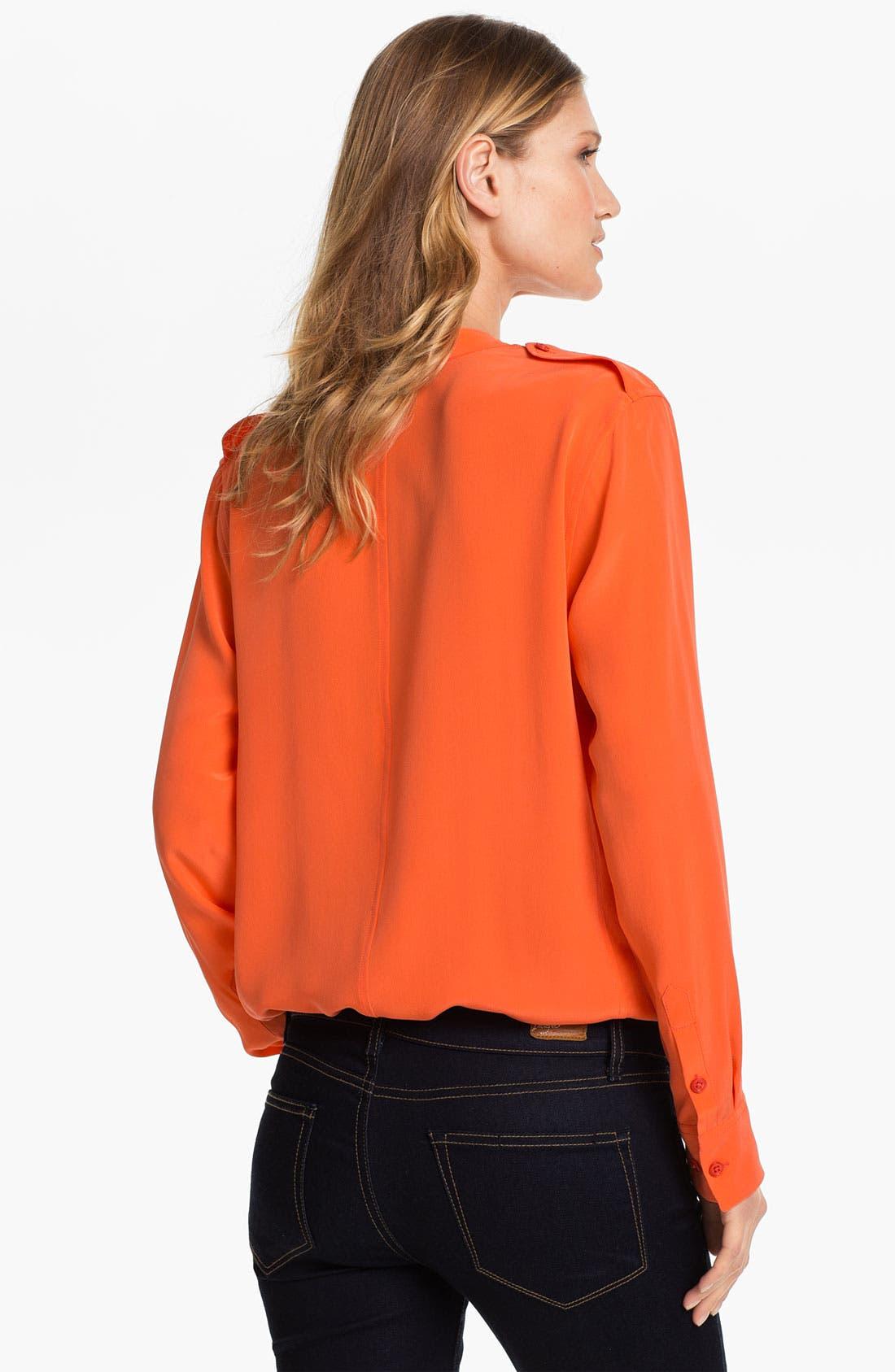 Alternate Image 2  - Equipment 'Carmen' Silk Shirt