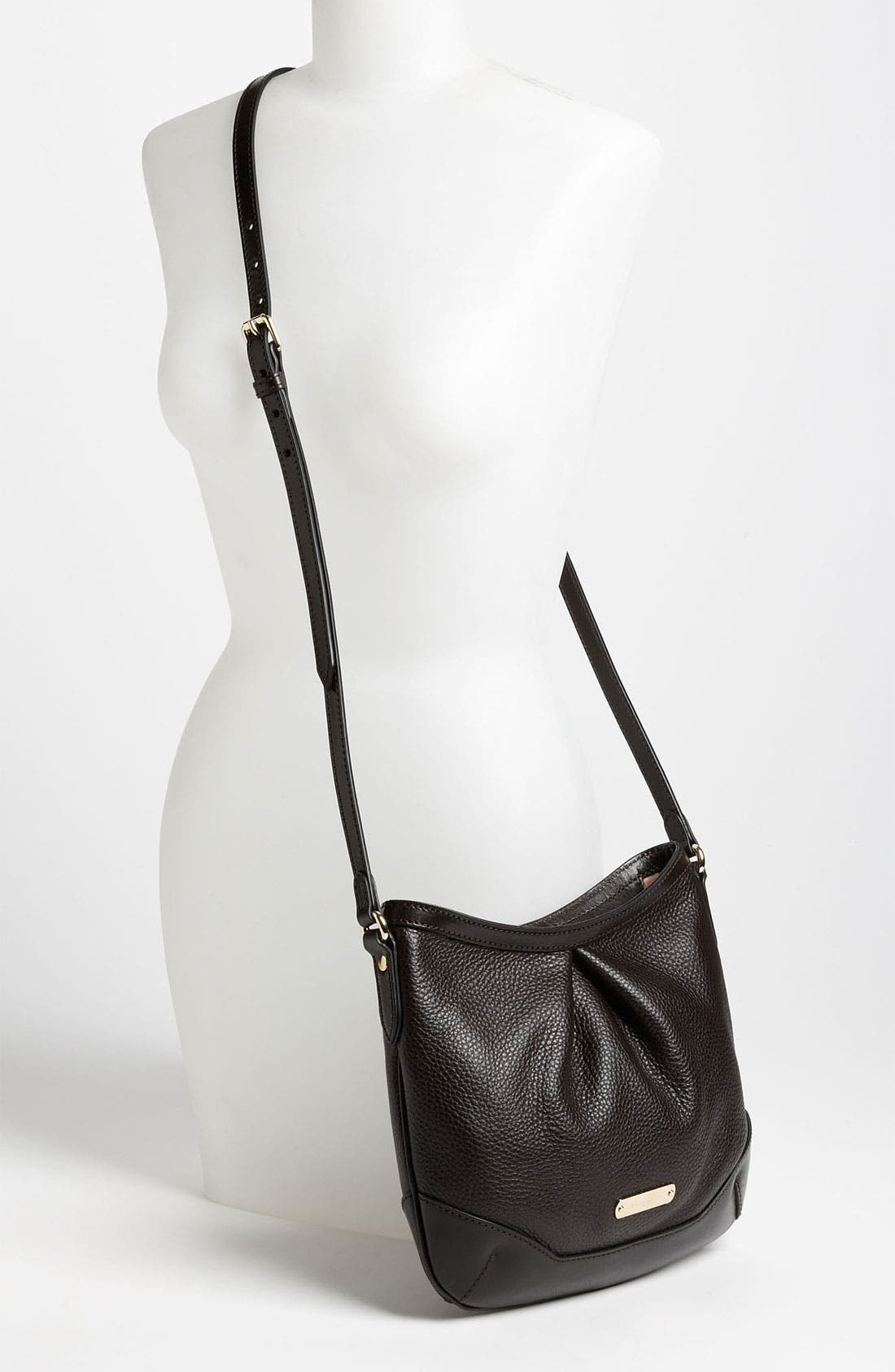Alternate Image 2  - Burberry 'London Grainy' Leather Crossbody Bag