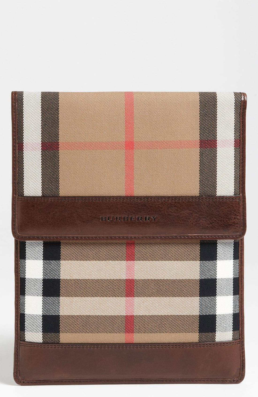 Alternate Image 1 Selected - Burberry 'House Check' iPad Sleeve