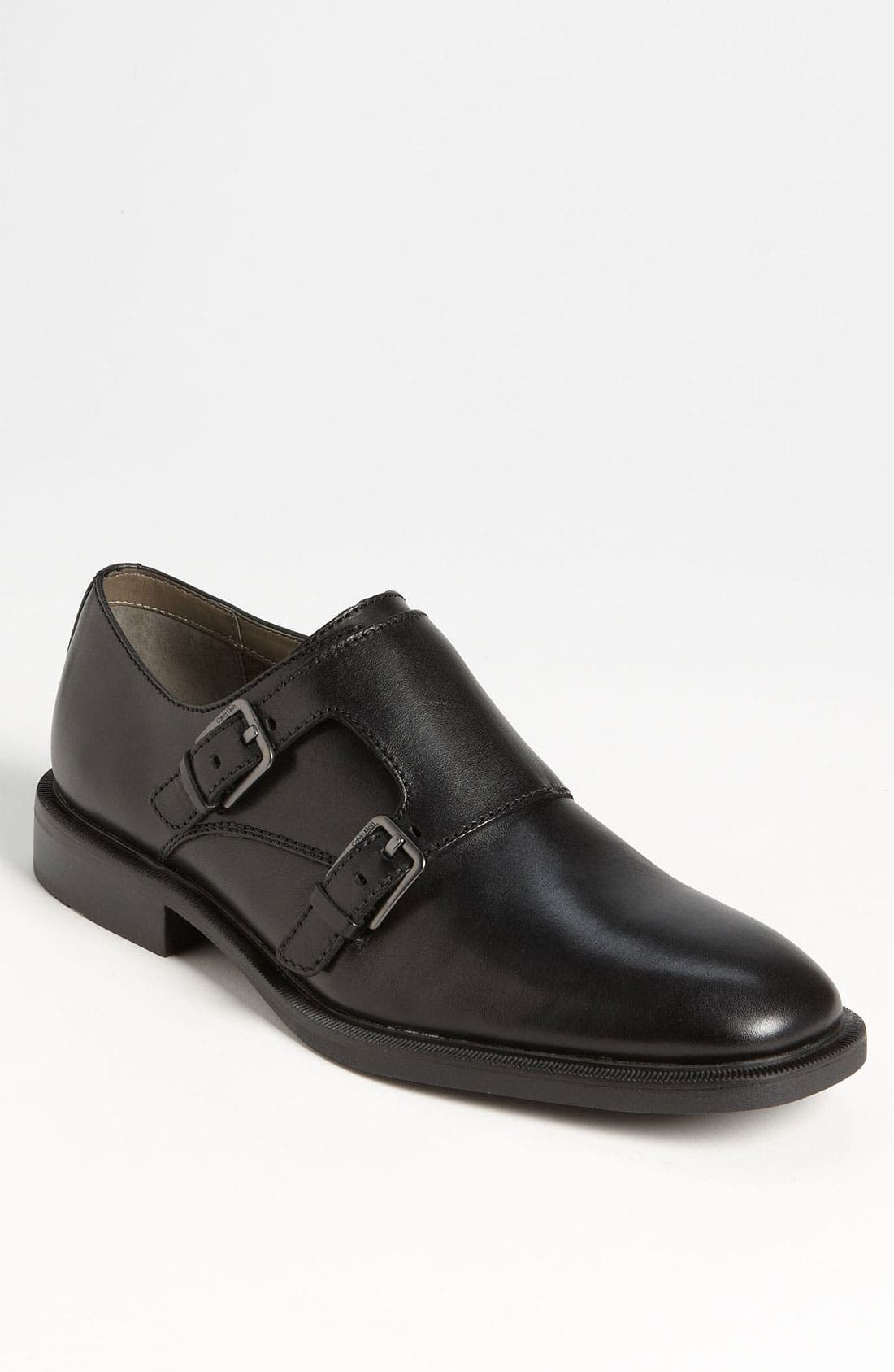 Alternate Image 1 Selected - Calvin Klein 'Russel' Double Monk Strap Slip-On