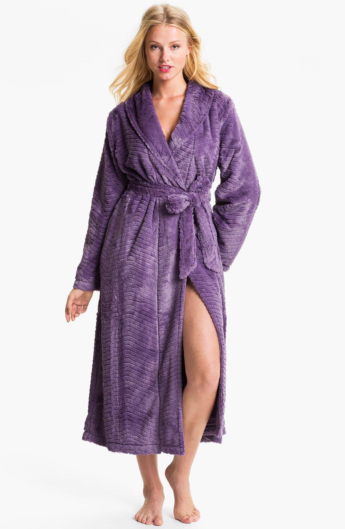 Alternate Image 1 Selected - Nordstrom 'Microcuddle' Plush Robe