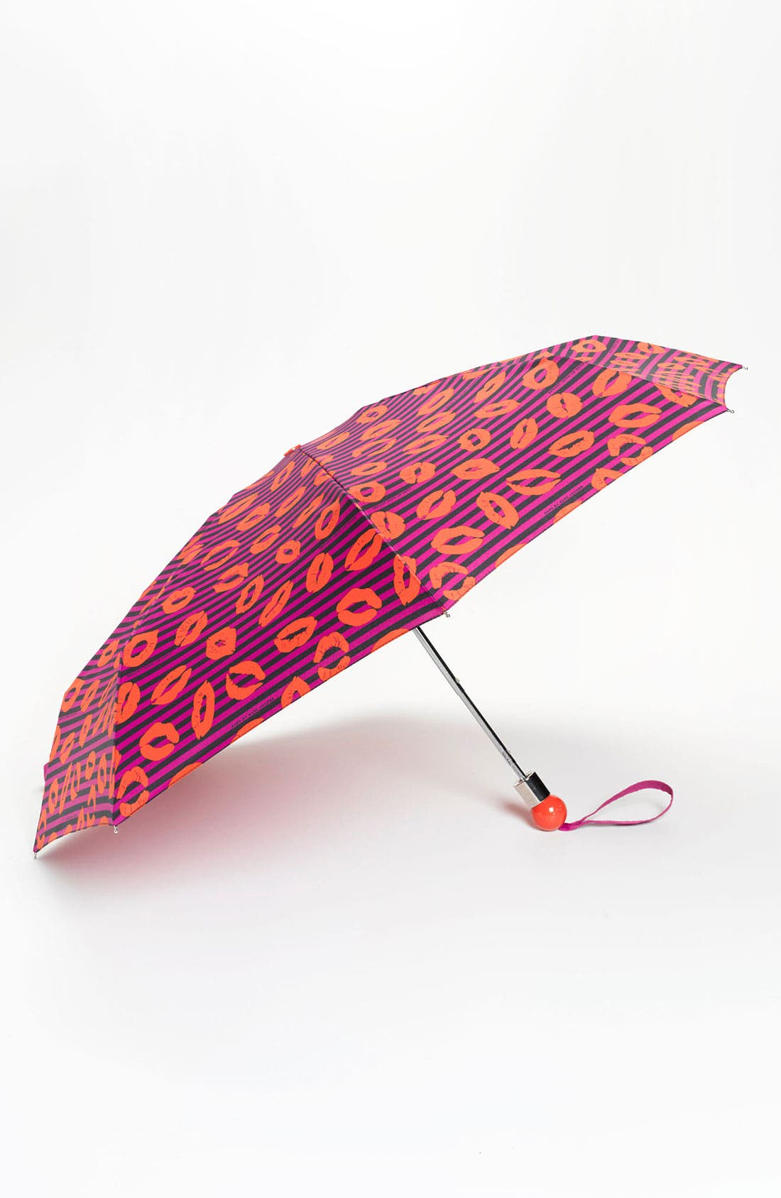 Alternate Image 1 Selected - MARC BY MARC JACOBS 'Skinny Stripey Lips' Umbrella