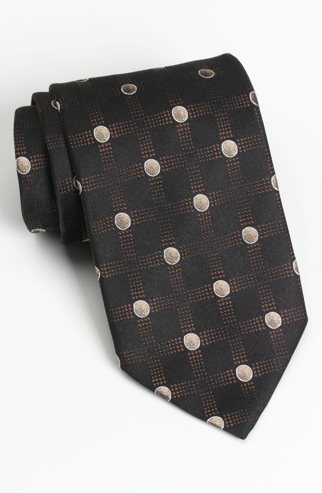 Alternate Image 1 Selected - BOSS Black Woven Silk Tie (Online Exclusive)