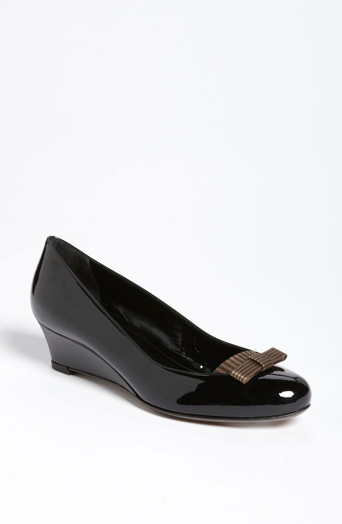 Alternate Image 1 Selected - Fendi 'Charleston' Demi Wedge Pump