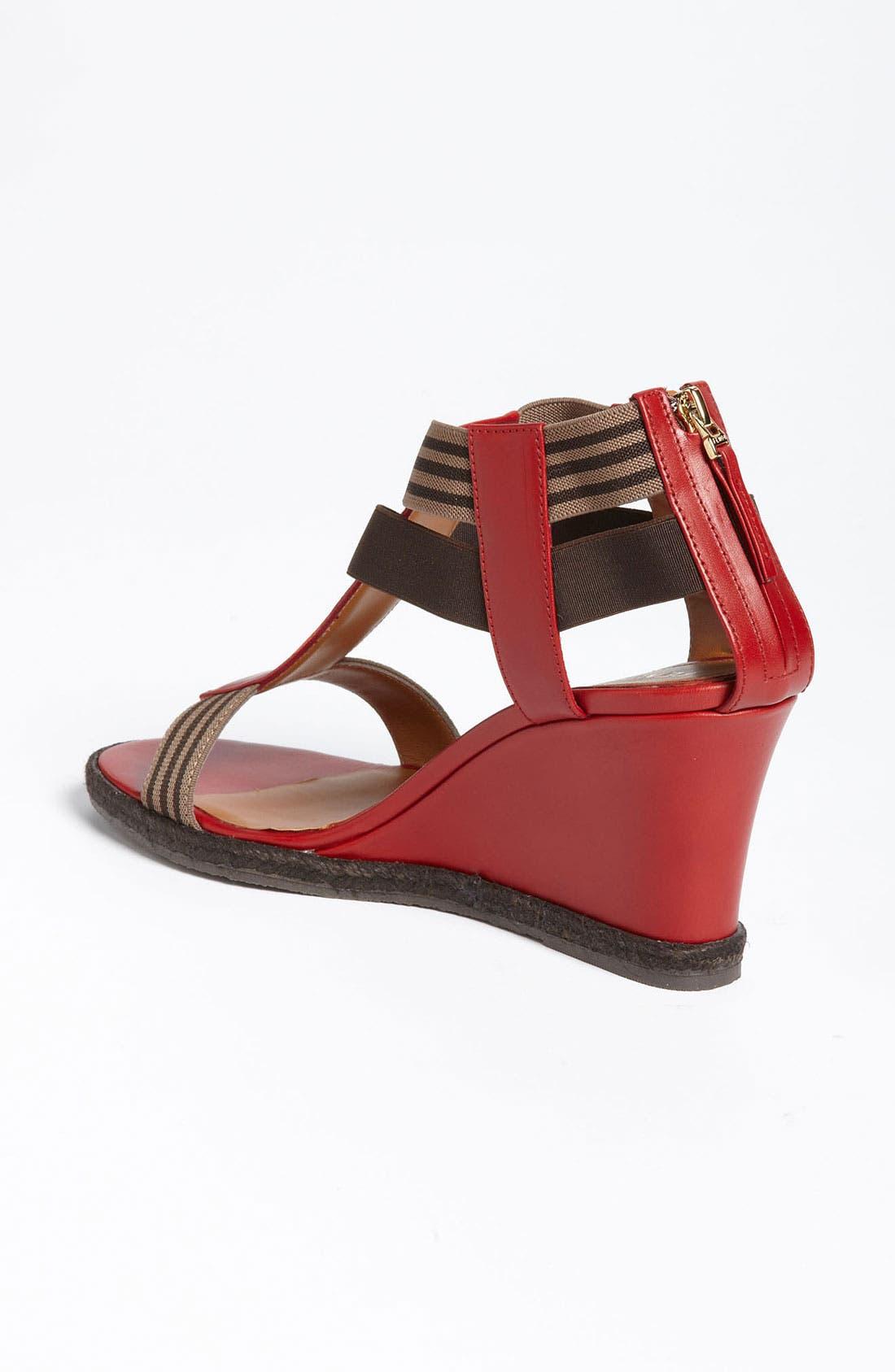 Alternate Image 2  - Fendi 'Carioca' Wedge Sandal