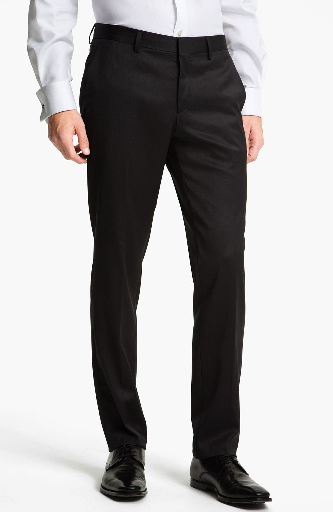 Alternate Image 1 Selected - BOSS Black 'Genesis' Formal Trousers