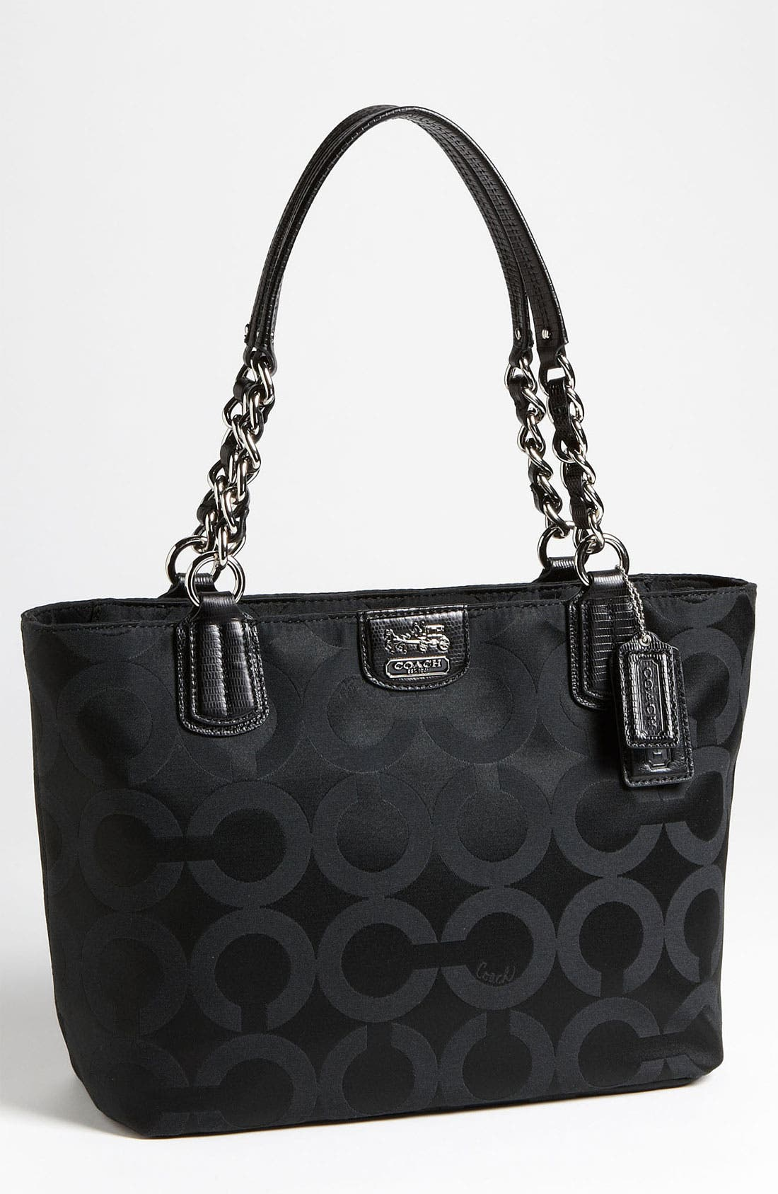 Alternate Image 1 Selected - COACH 'Op Art' Sateen Tote