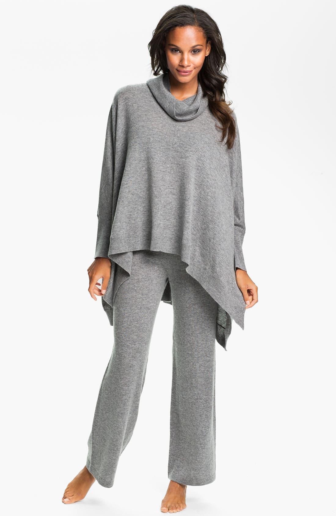 Alternate Image 4  - Donna Karan 'Cozy' Sweater Knit Poncho