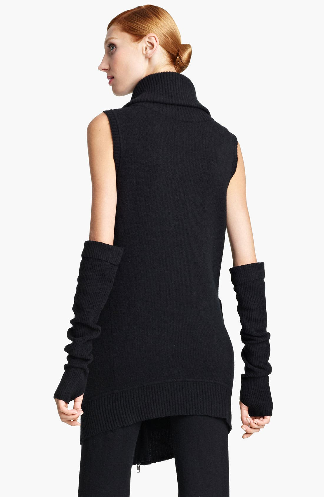 Alternate Image 2  - Donna Karan Collection Boiled Cashmere Vest