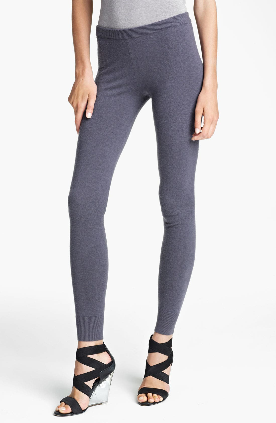 Alternate Image 1 Selected - Donna Karan Collection 'First Layer' Cashmere Blend Leggings