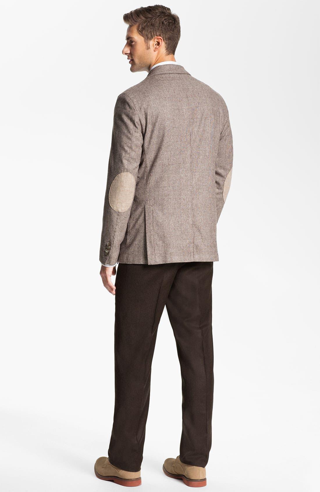 Alternate Image 5  - Lubiam 'Prince of Wales' Wool Sportcoat