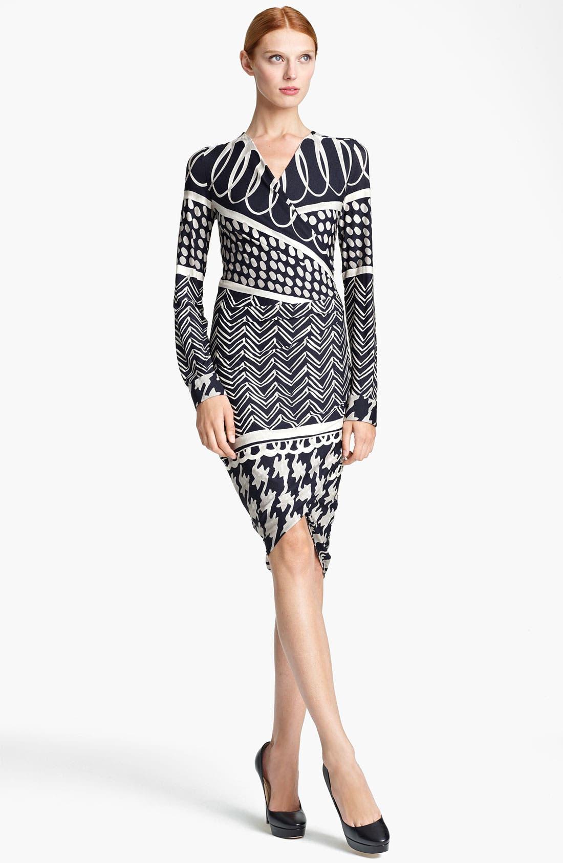 Main Image - Max Mara 'Eneide' Print Jersey Dress