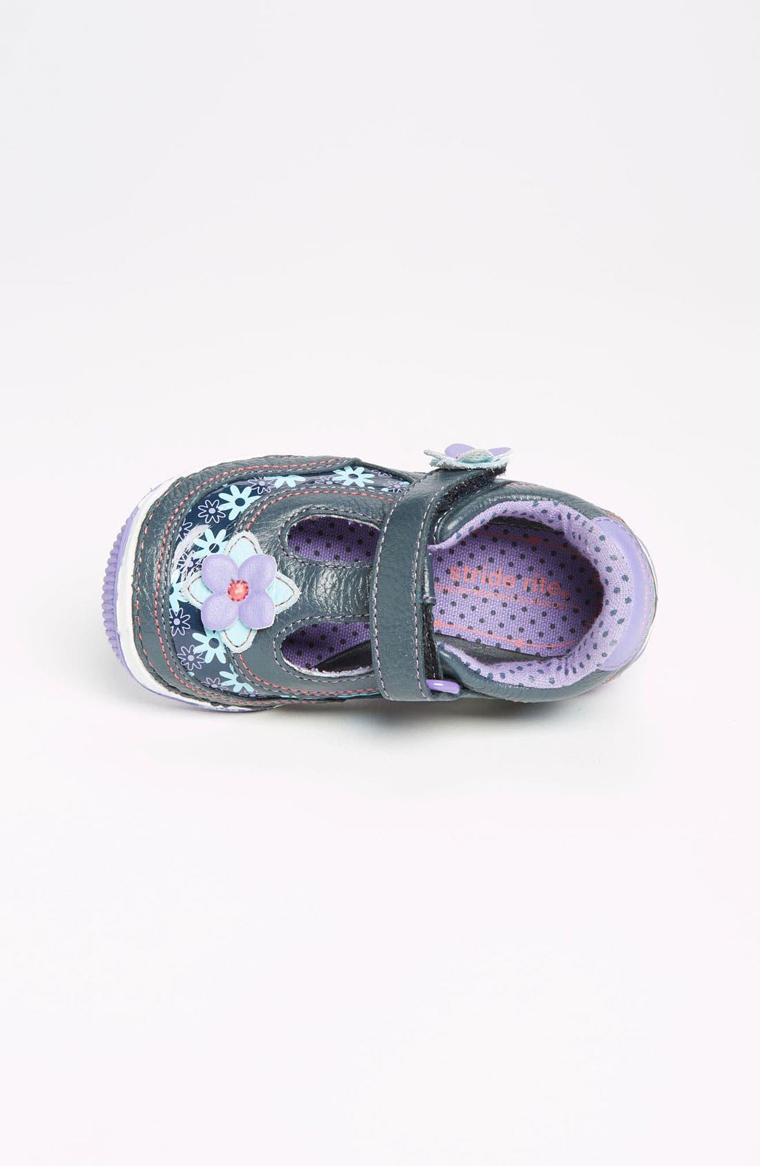 Alternate Image 3  - Stride Rite 'Rain' Sneaker (Baby, Walker & Toddler)